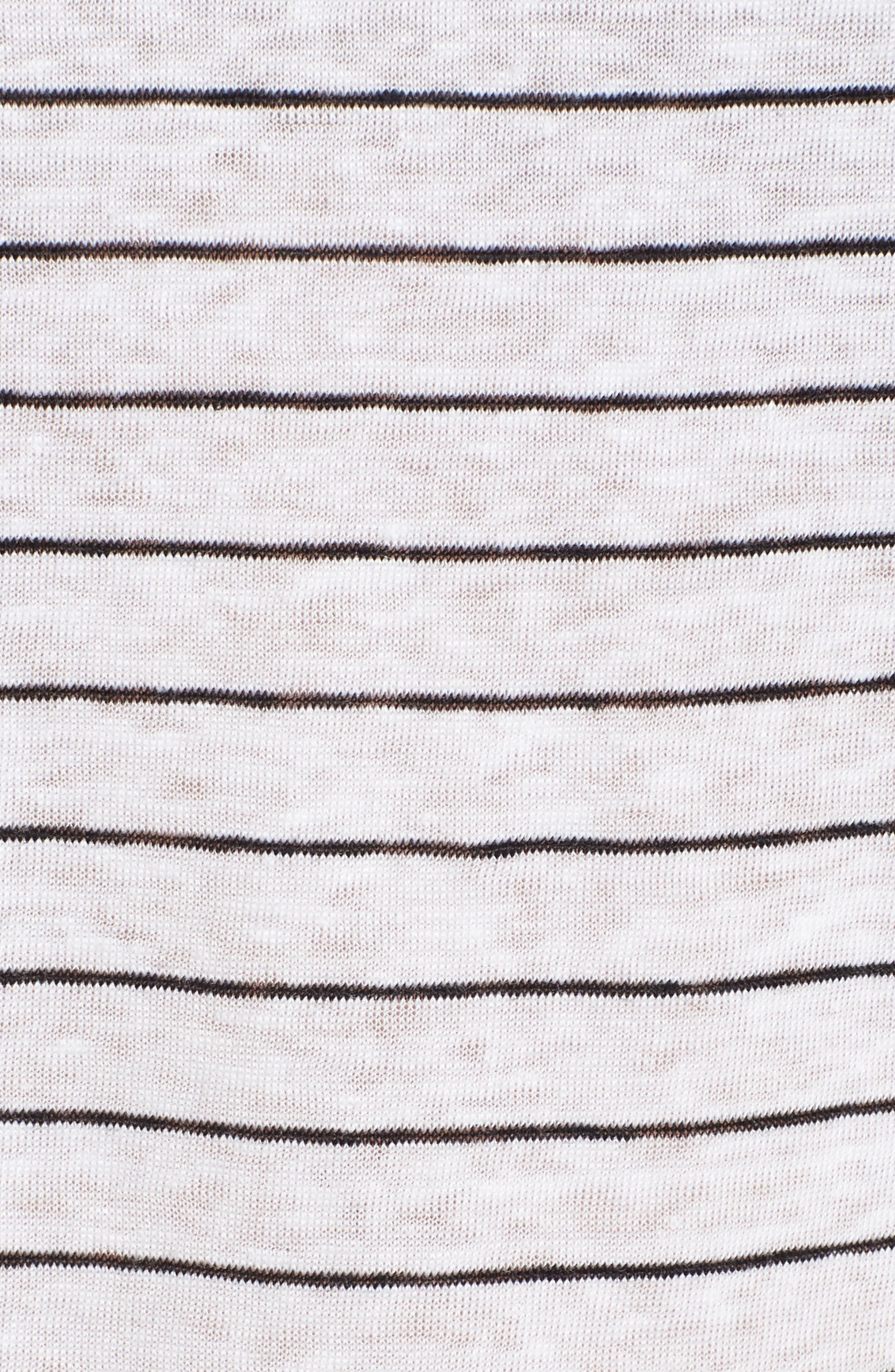 Stripe Linen Tank,                             Alternate thumbnail 5, color,                             120