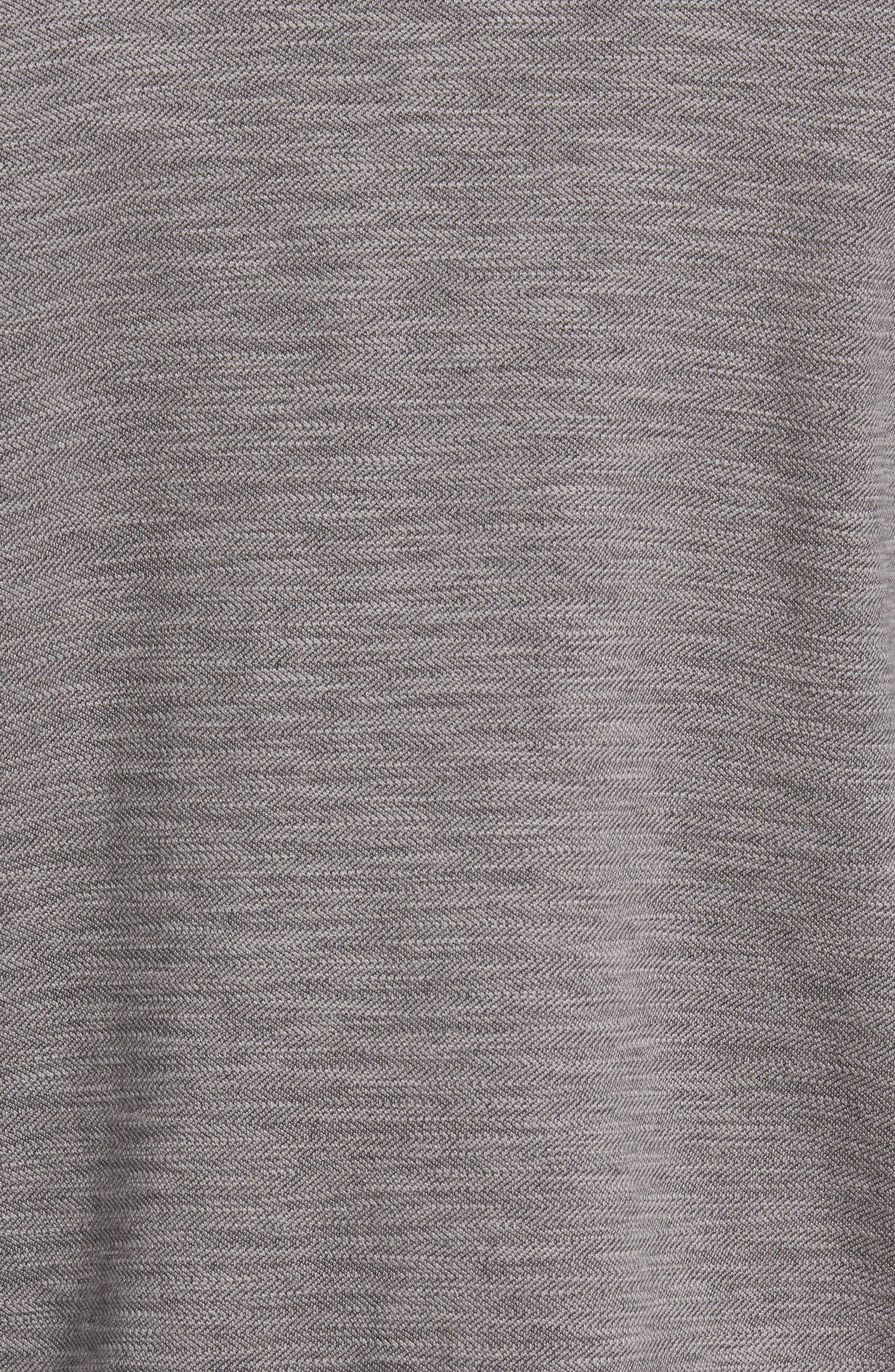 Sandbar Slub Reversible Quarter Zip Pullover,                             Alternate thumbnail 5, color,                             005