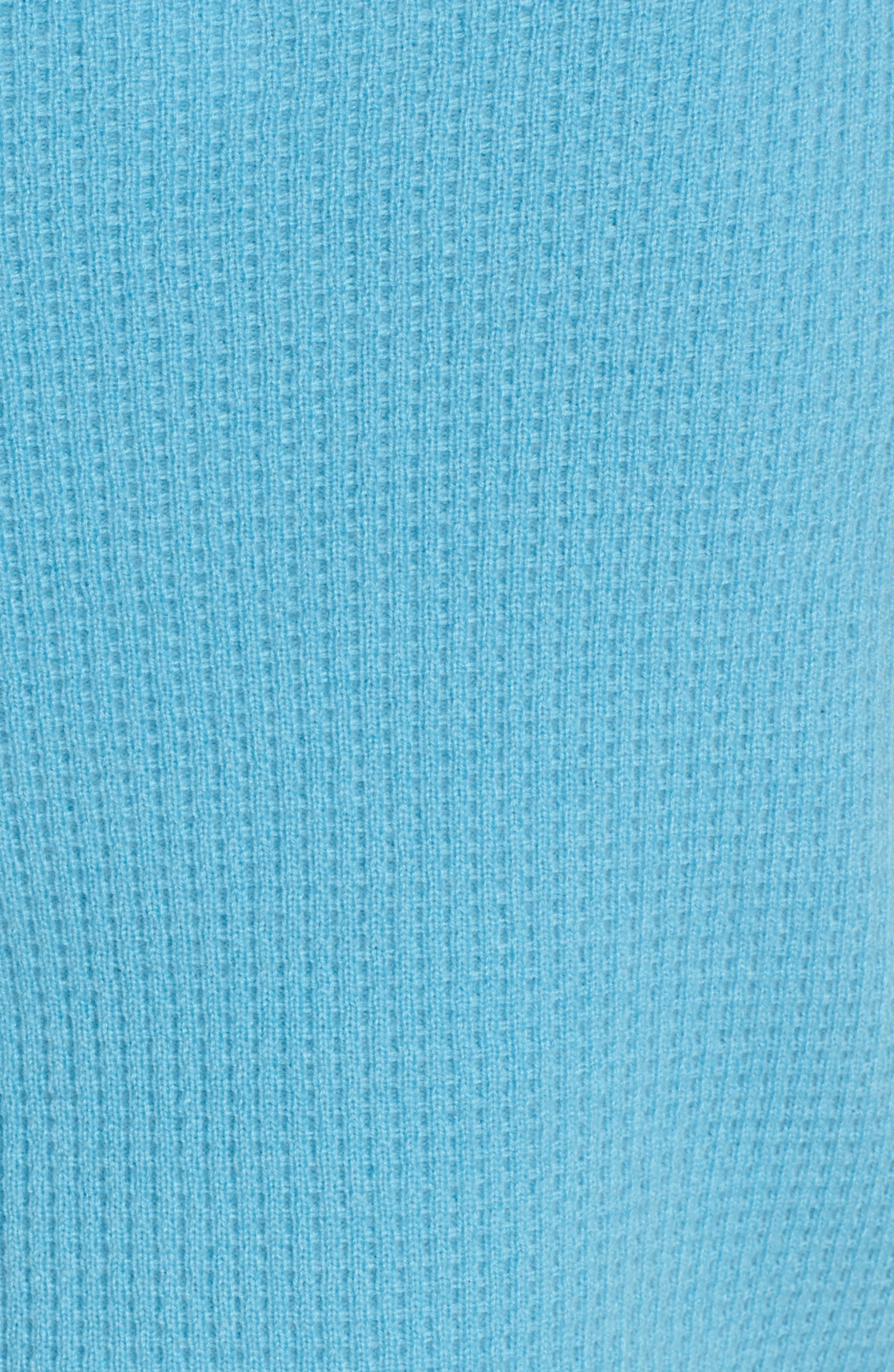 Waffle Stitch Cashmere Sweater,                             Alternate thumbnail 9, color,