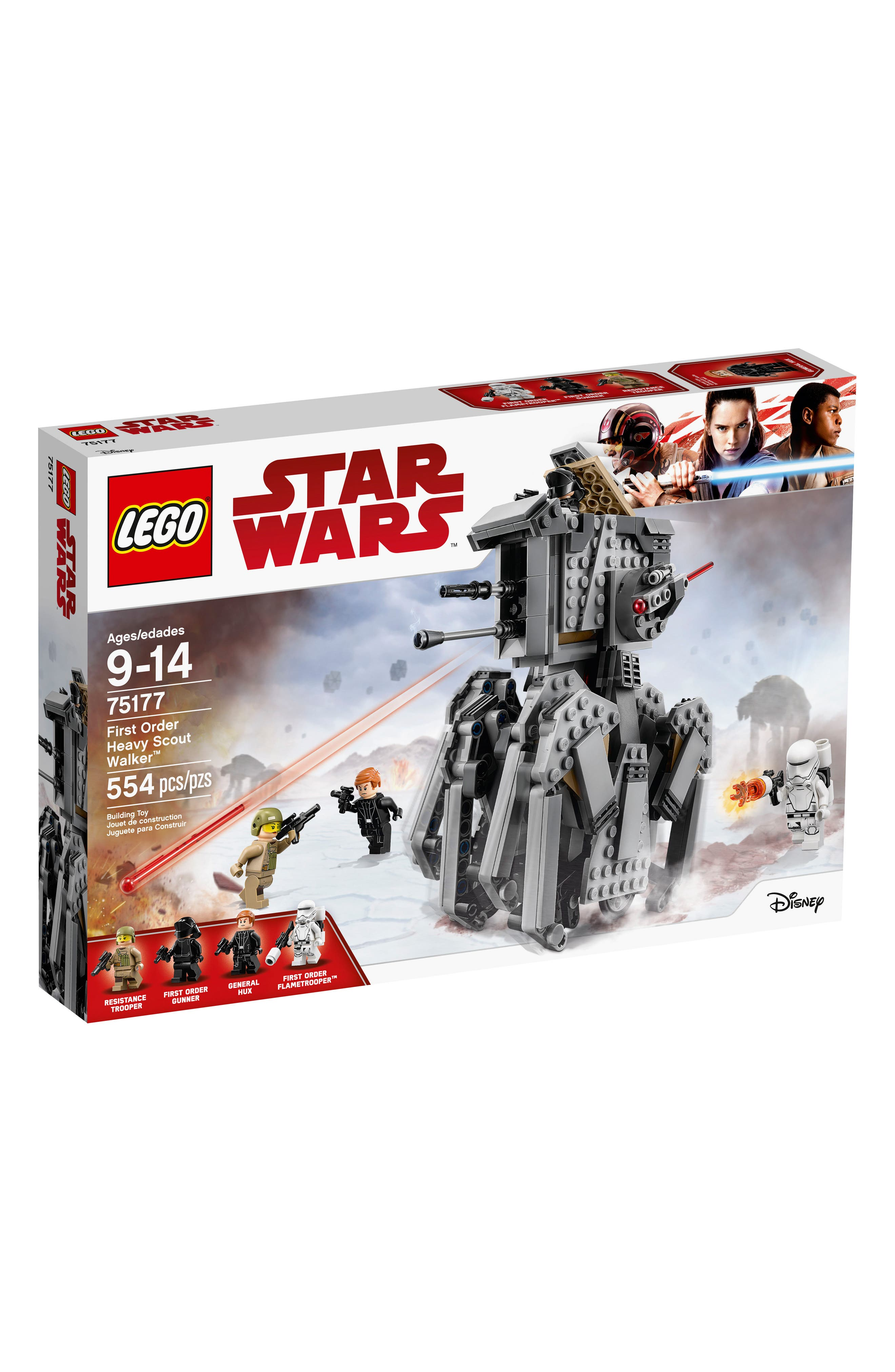 Star Wars<sup>™</sup> First Order Heavy Scout Walker - 75177,                             Main thumbnail 1, color,                             020