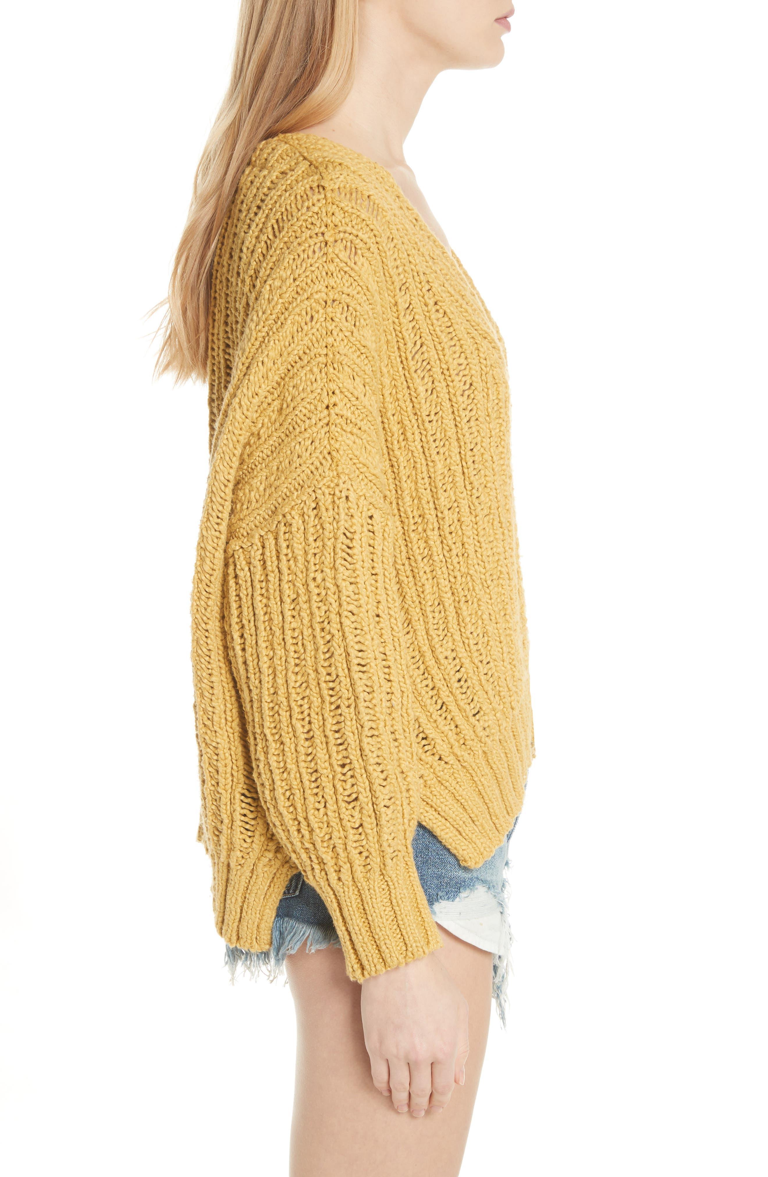 Infinite V-Neck Sweater,                             Alternate thumbnail 8, color,