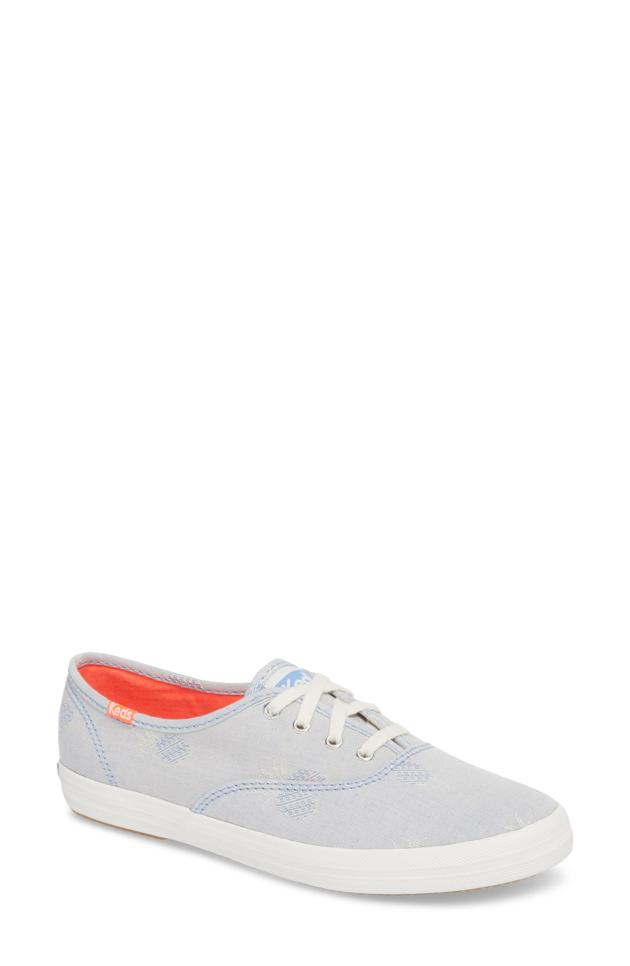Champion Pineapple Chambray Sneaker,                             Main thumbnail 1, color,                             400