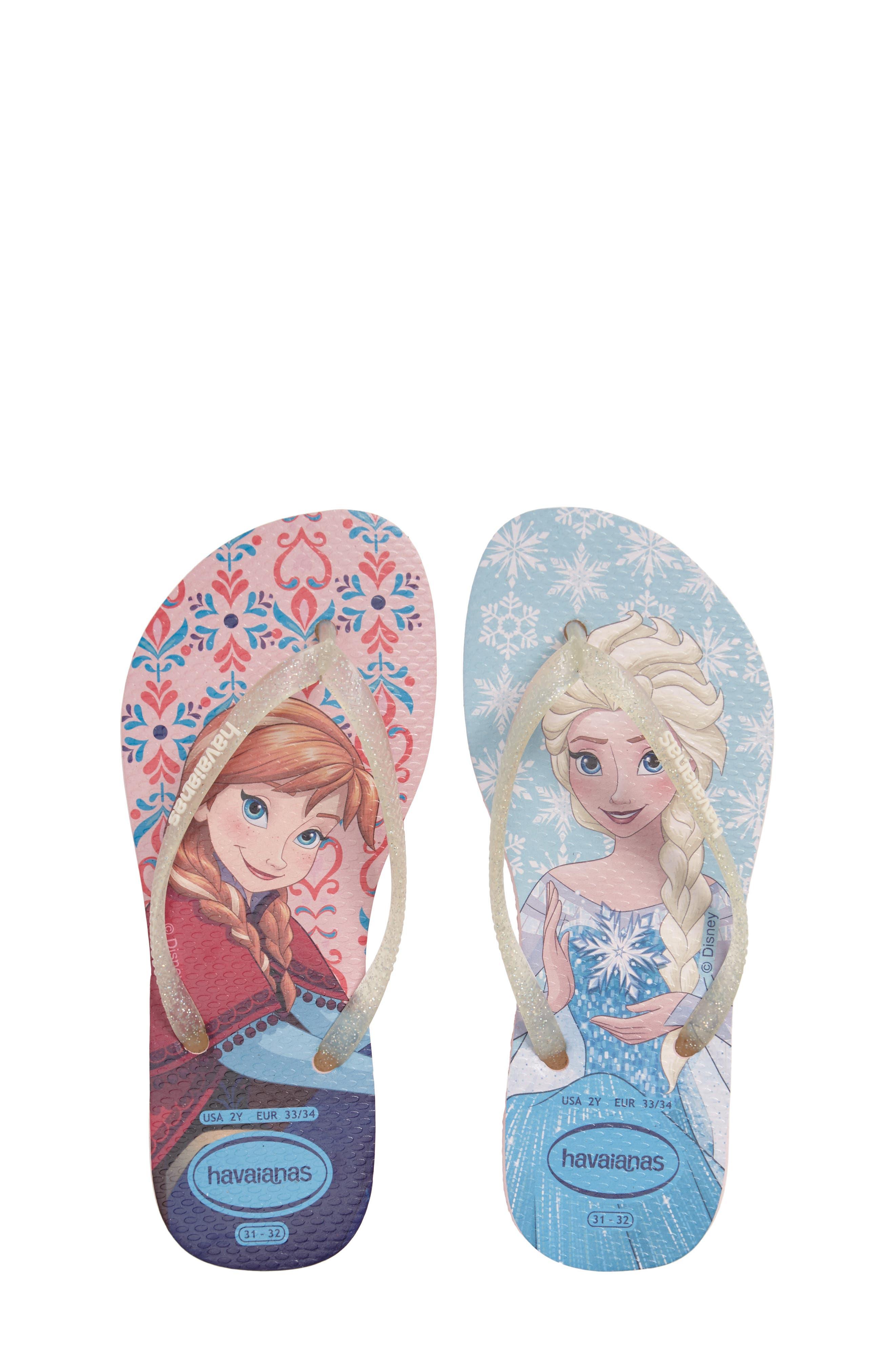 Slim Frozen Flip Flop,                         Main,                         color, 100