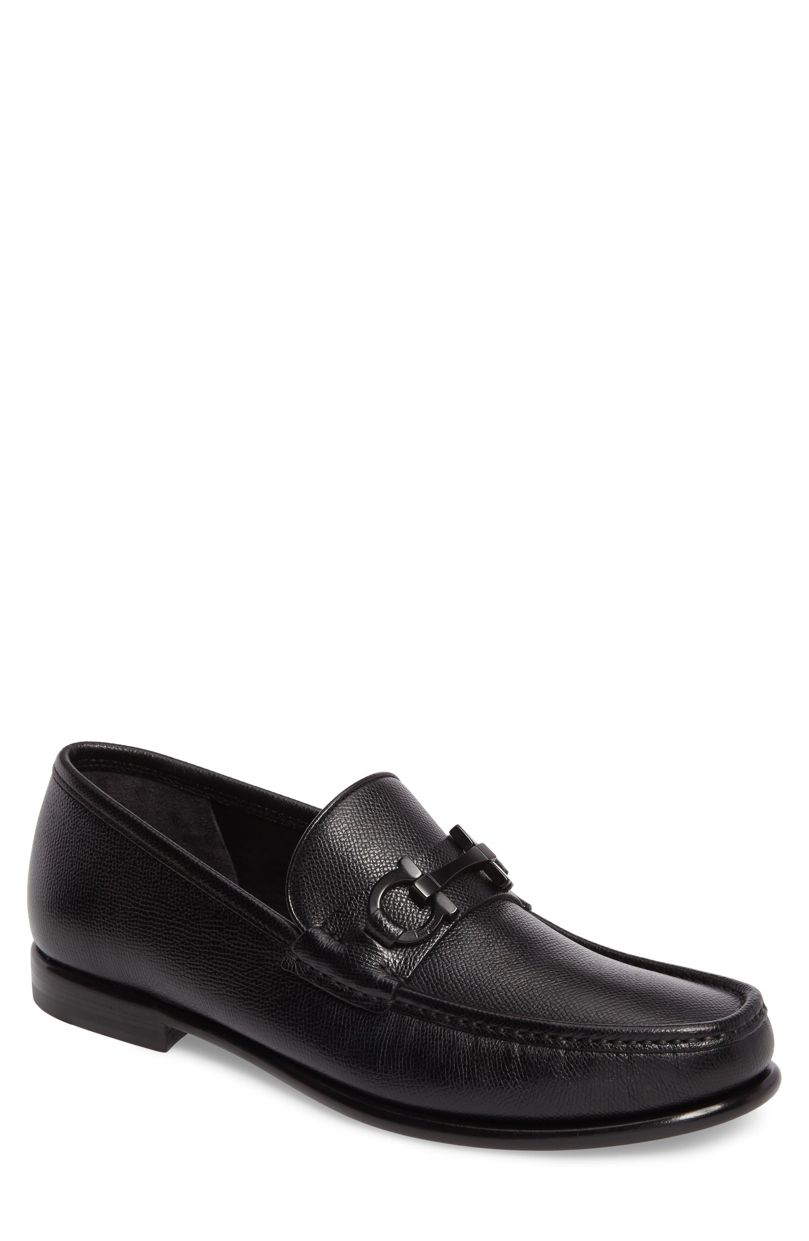 Crown Bit Loafer,                         Main,                         color, NERO