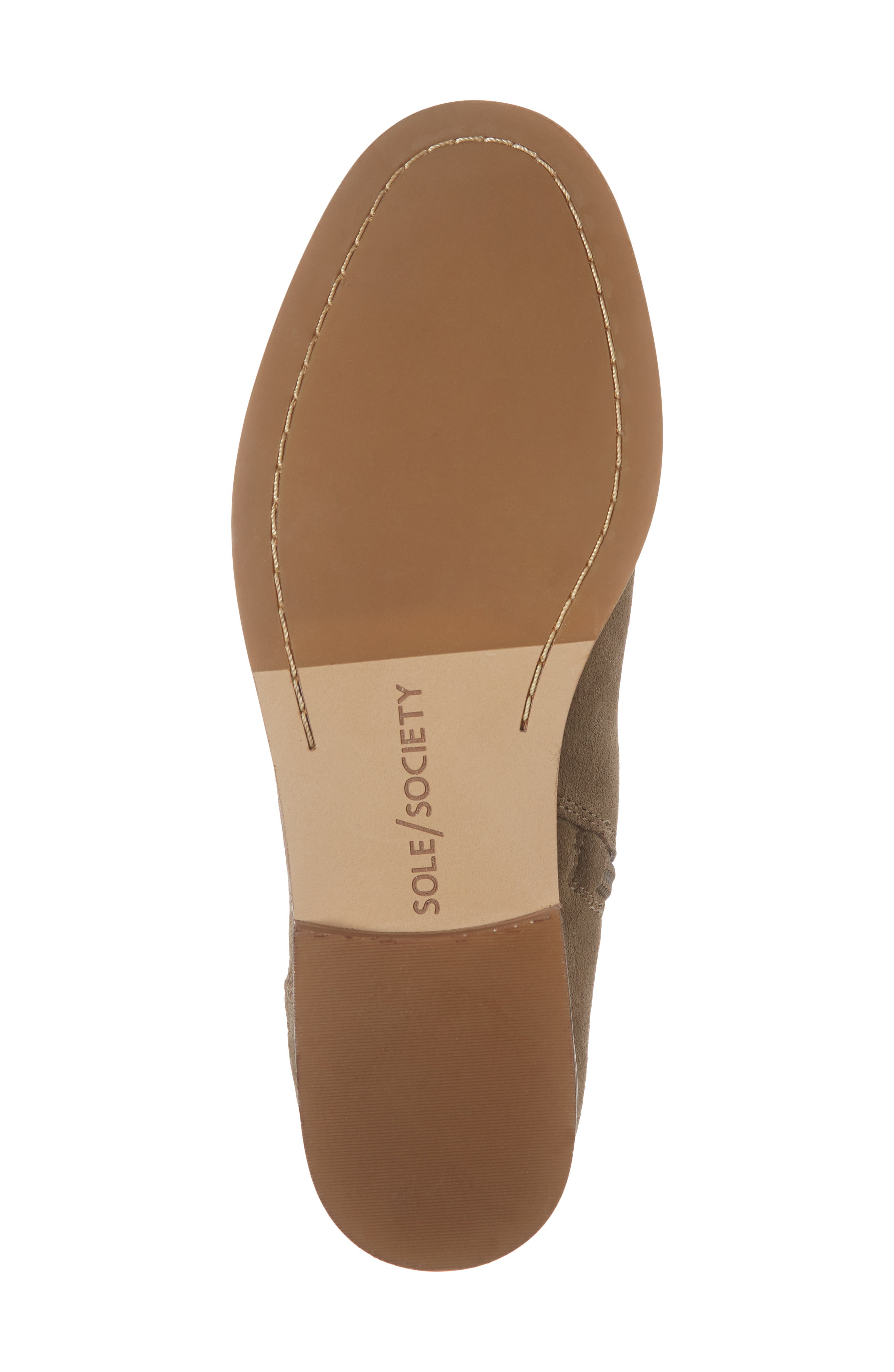 Bevlyn Bootie,                             Alternate thumbnail 6, color,                             ROCK SUEDE