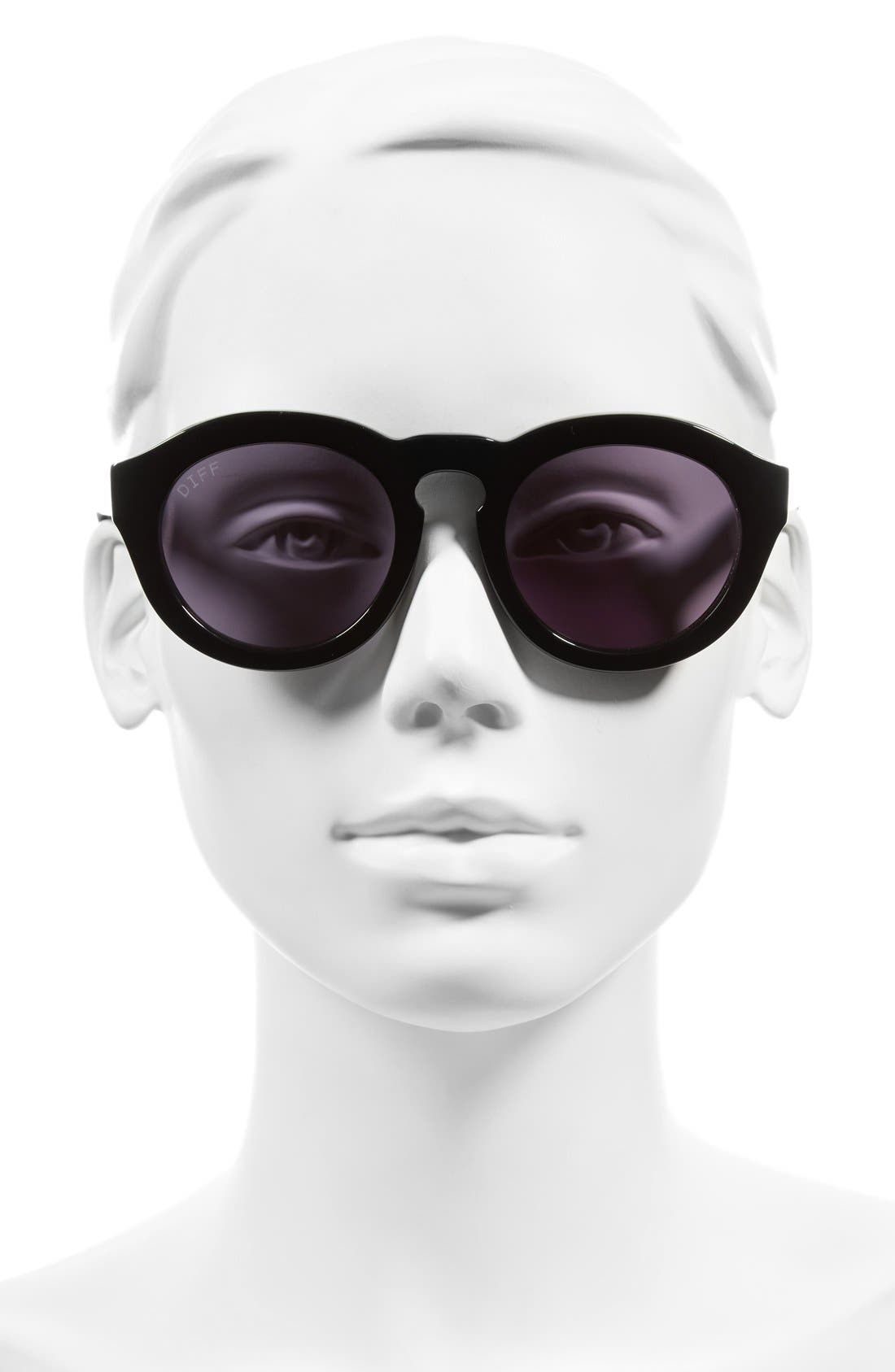 Dime 48mm Retro Sunglasses,                             Alternate thumbnail 24, color,