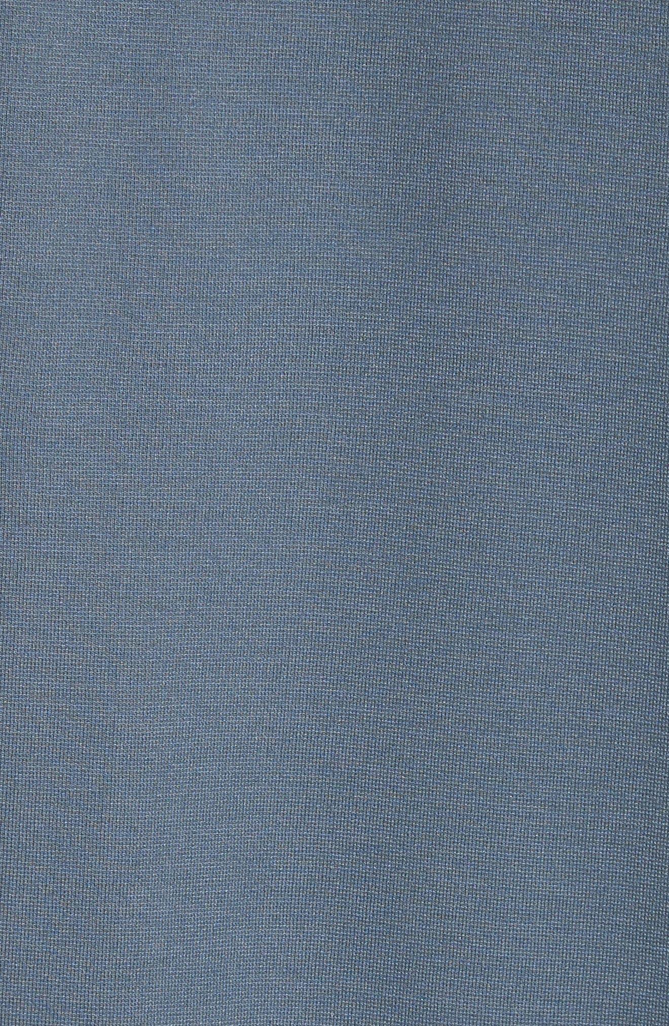 Navid Logo Collar T-Shirt,                             Alternate thumbnail 5, color,                             PIGEON BLUE