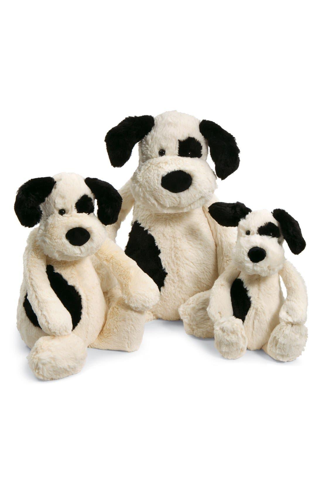 'Really Big Bashful Puppy' Stuffed Animal,                             Alternate thumbnail 3, color,                             IVORY/ BLACK