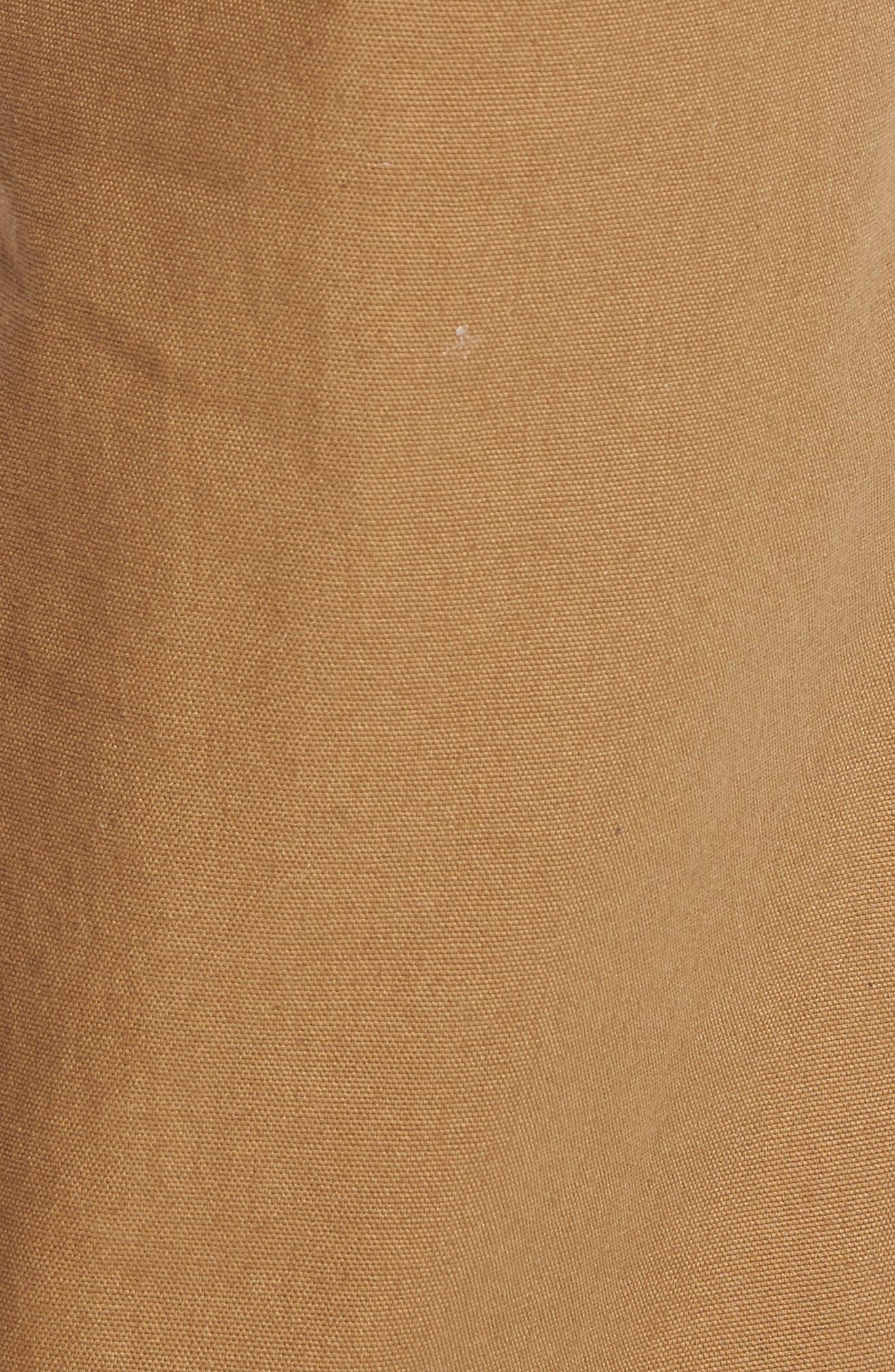 Hardware Straight Fit Carpenter Pants,                             Alternate thumbnail 5, color,                             DIRT