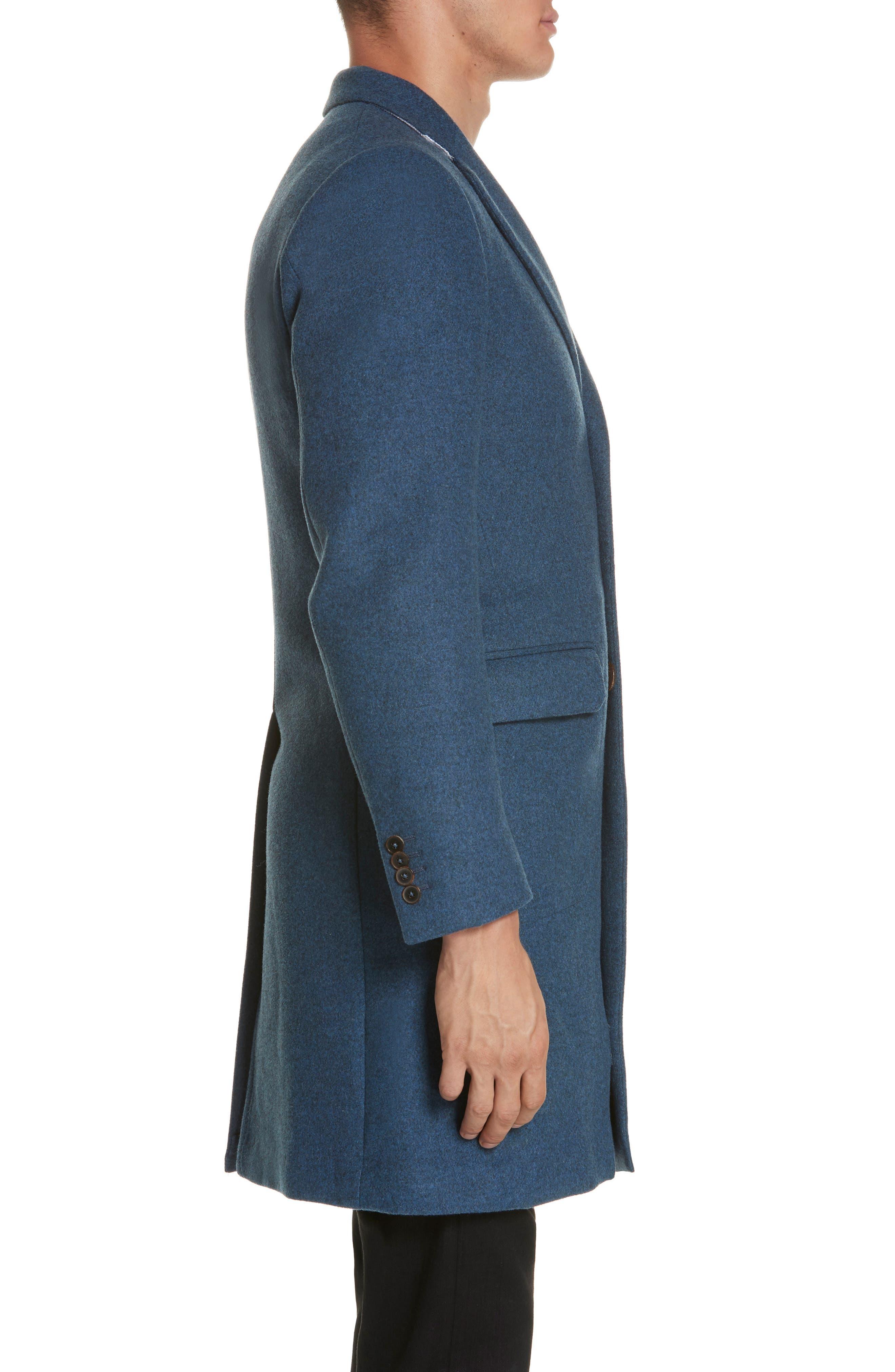 Wool & Cashmere Car Coat,                             Alternate thumbnail 3, color,                             423