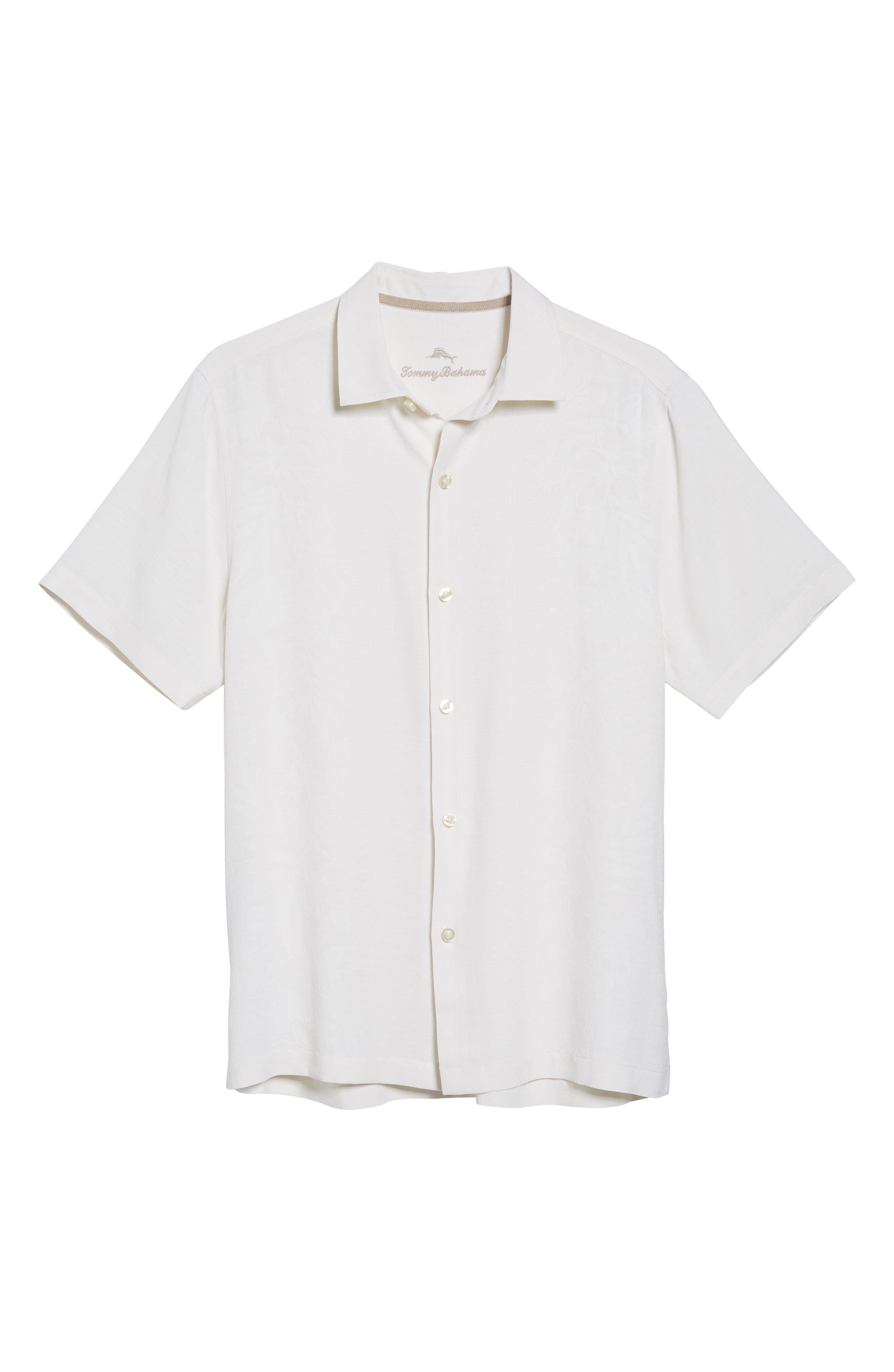 Hawaiian Wedding Silk Shirt,                             Alternate thumbnail 6, color,                             100