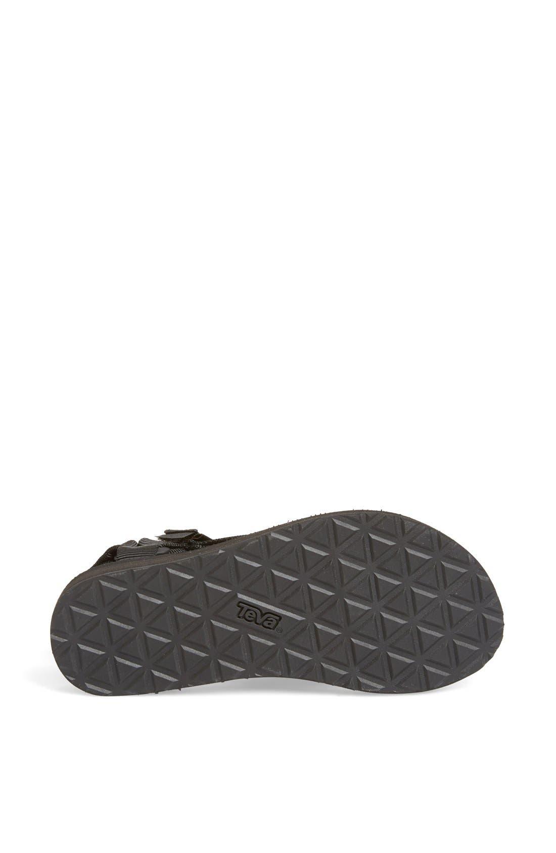 'Original Universal' Sandal,                             Alternate thumbnail 2, color,                             BLACK