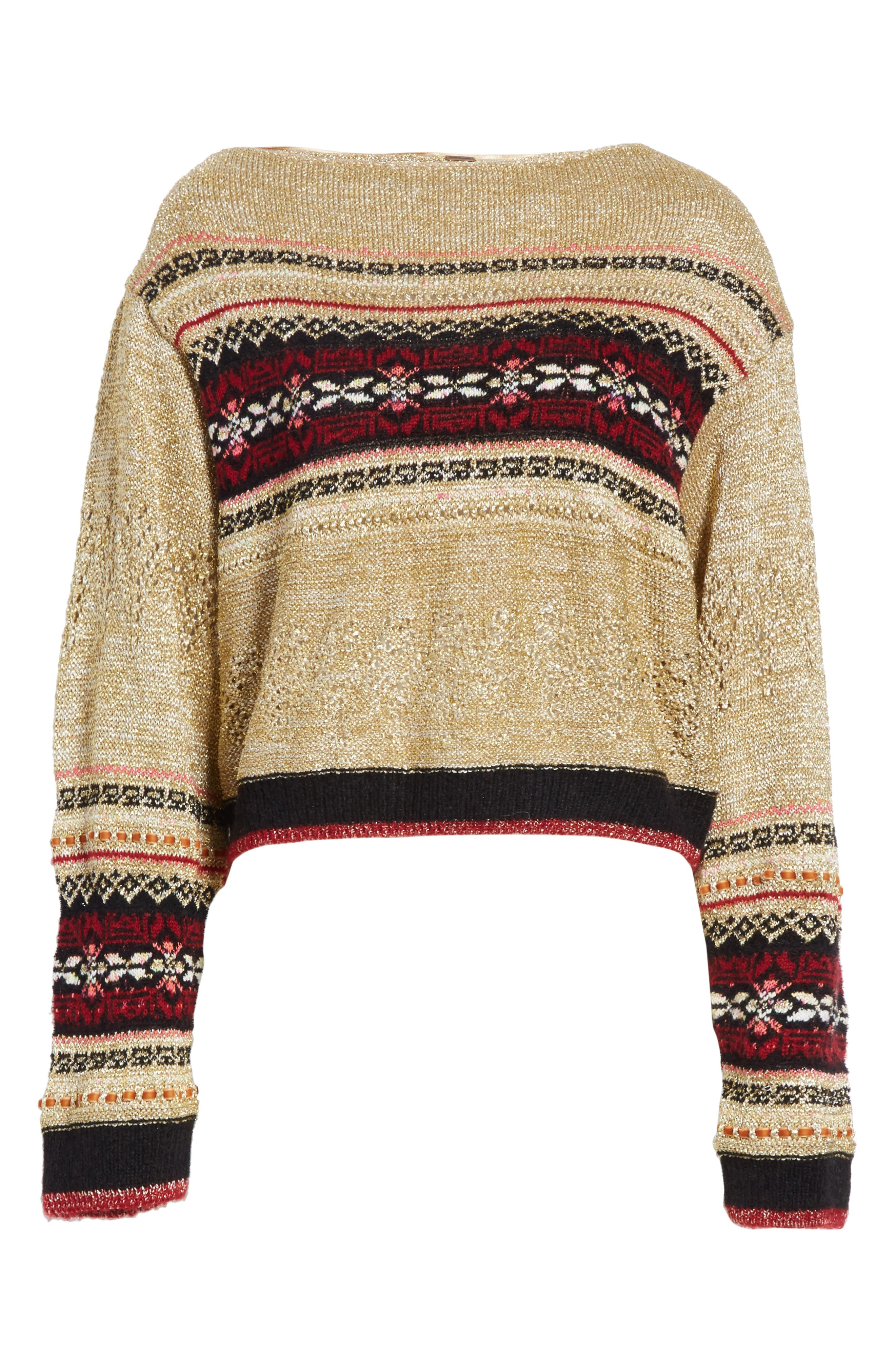 Ski Lake Sweater,                             Alternate thumbnail 6, color,                             297