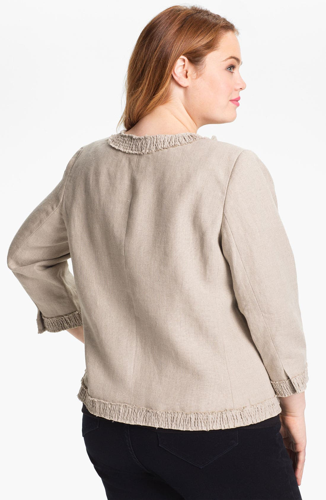 Linen Jacket,                             Alternate thumbnail 5, color,