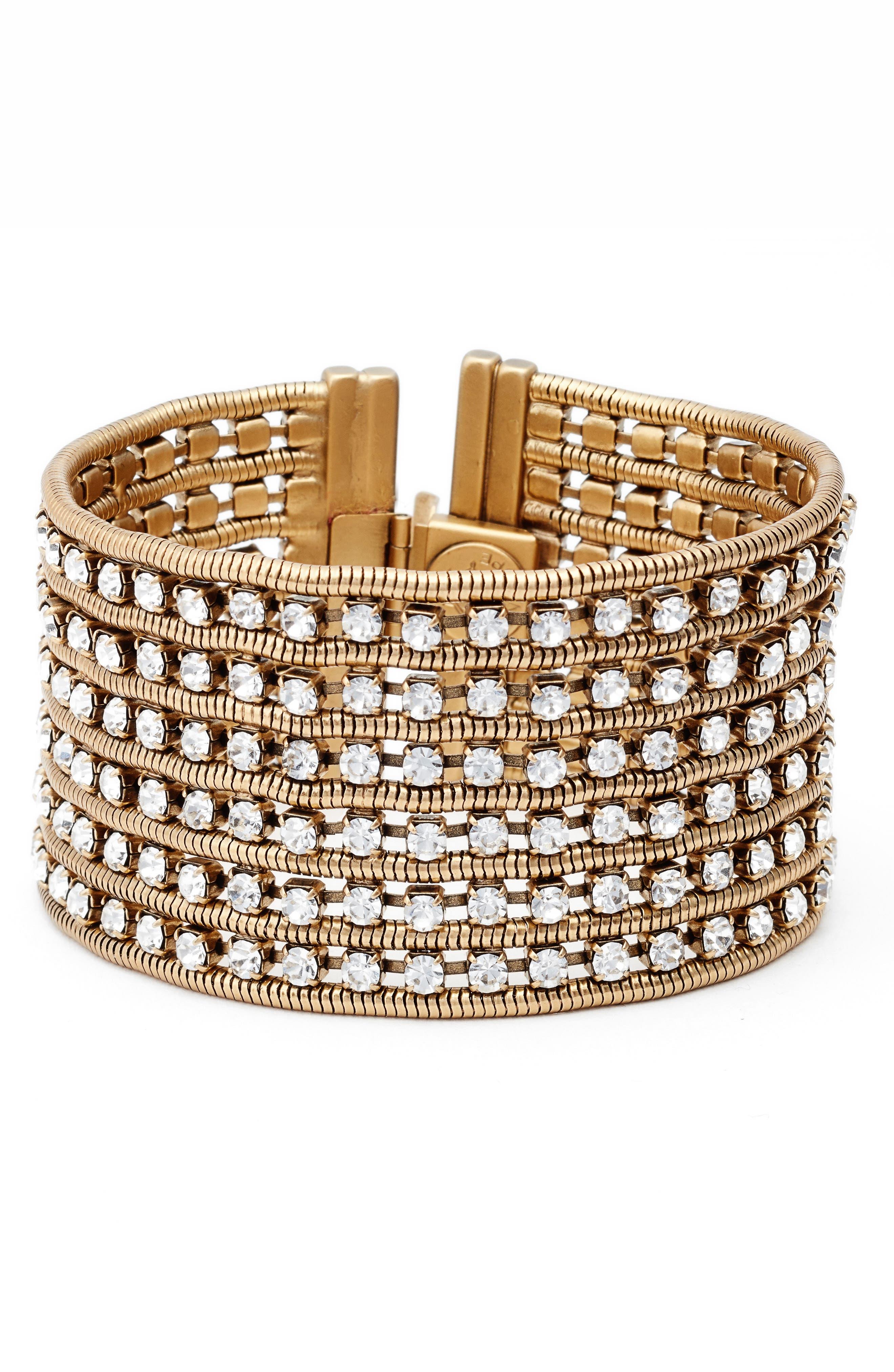 Nina Wide Bracelet,                             Main thumbnail 3, color,