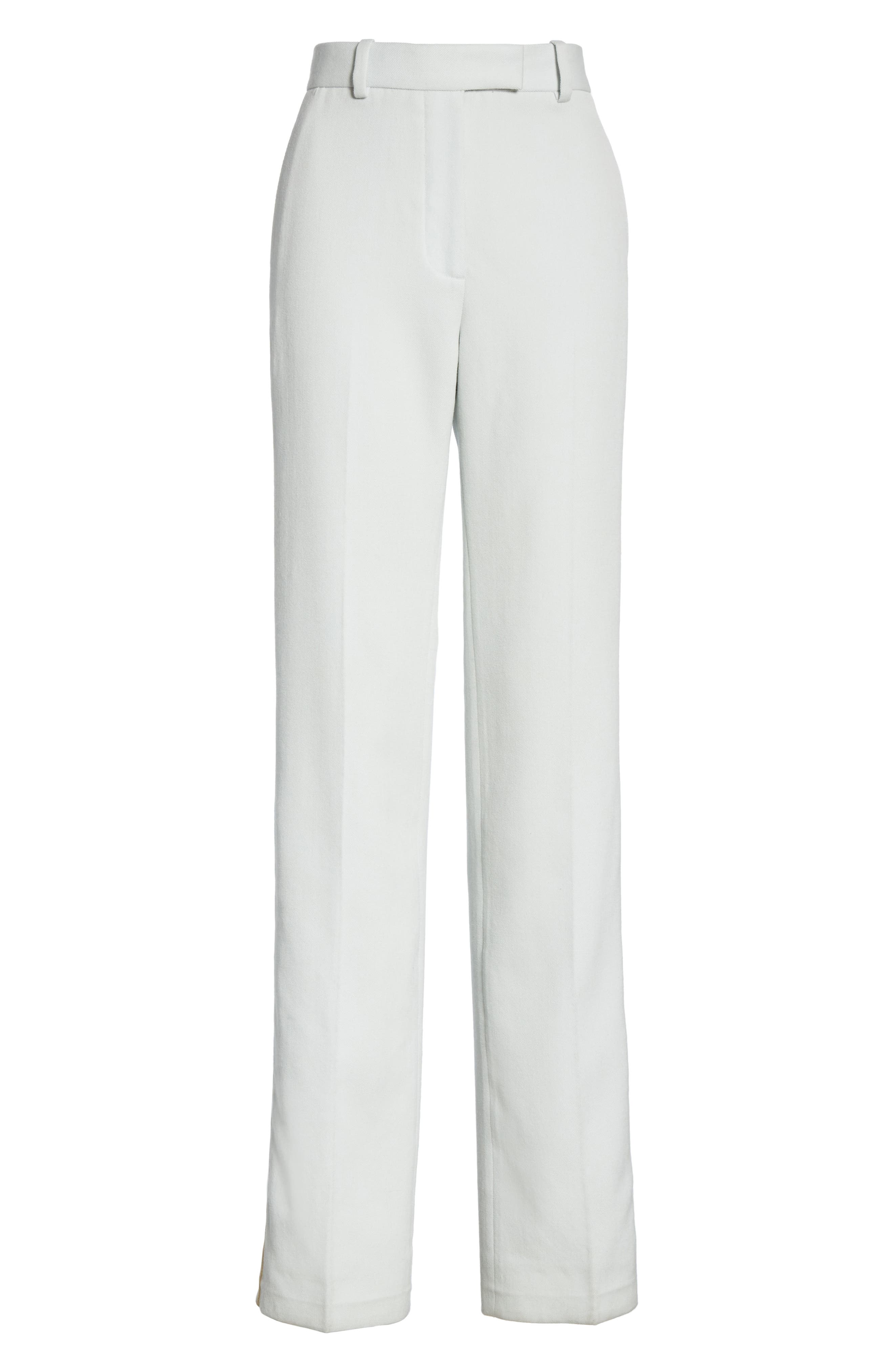 Wool Twill Marching Band Pants,                             Alternate thumbnail 6, color,                             LIGHT AQUA