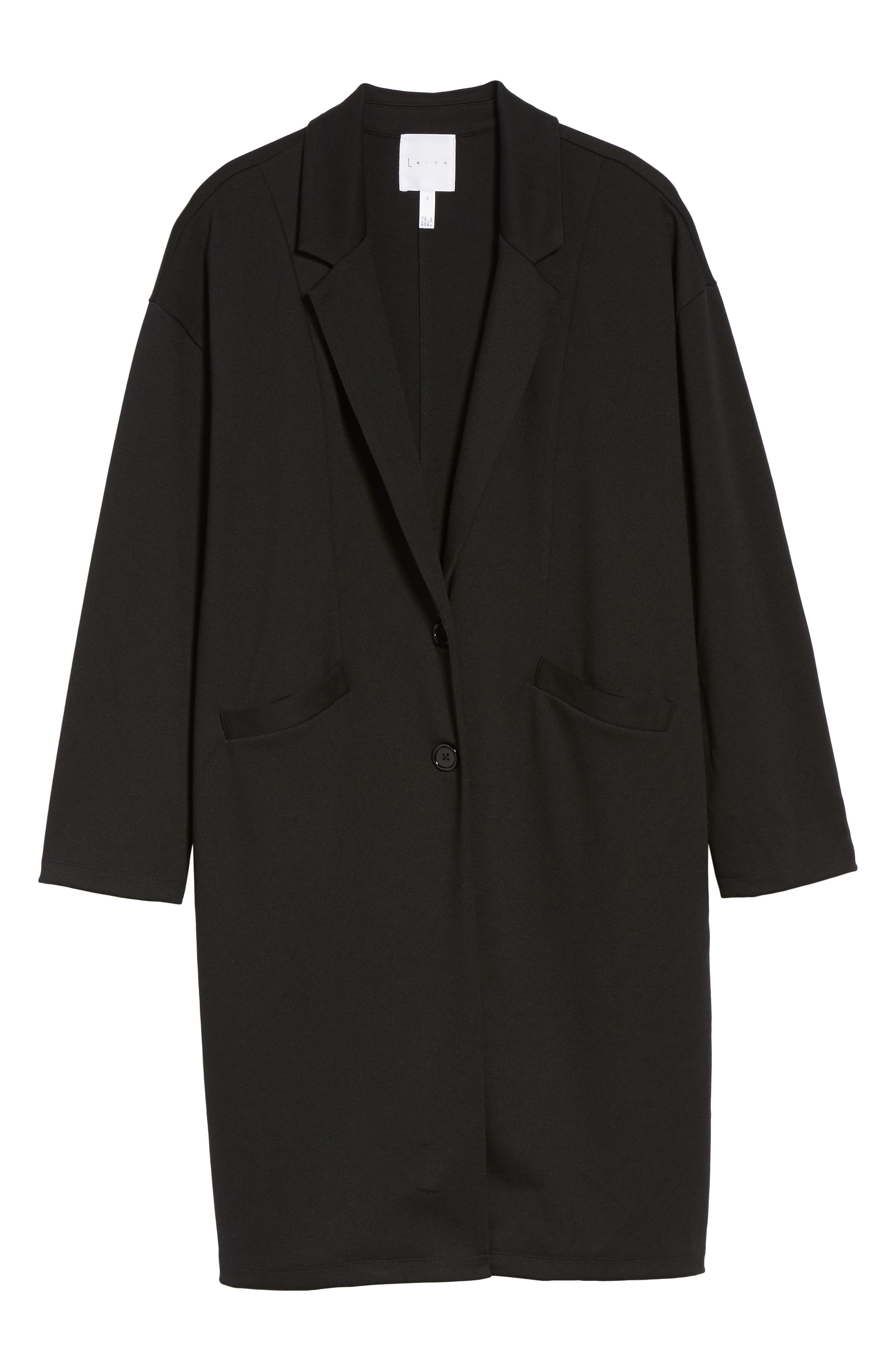 Longline Jacket,                             Alternate thumbnail 5, color,                             001