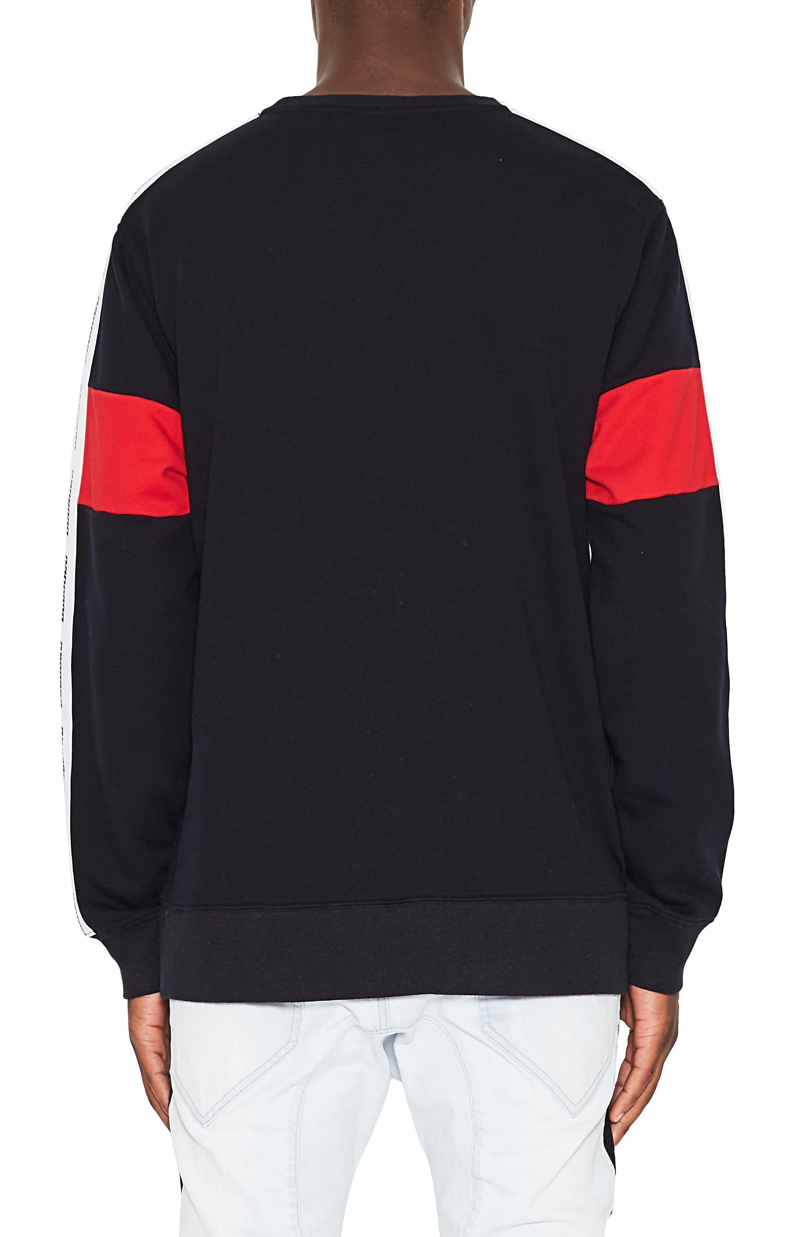 Dragon Crewneck Sweatshirt,                             Alternate thumbnail 2, color,                             GRAPHITE