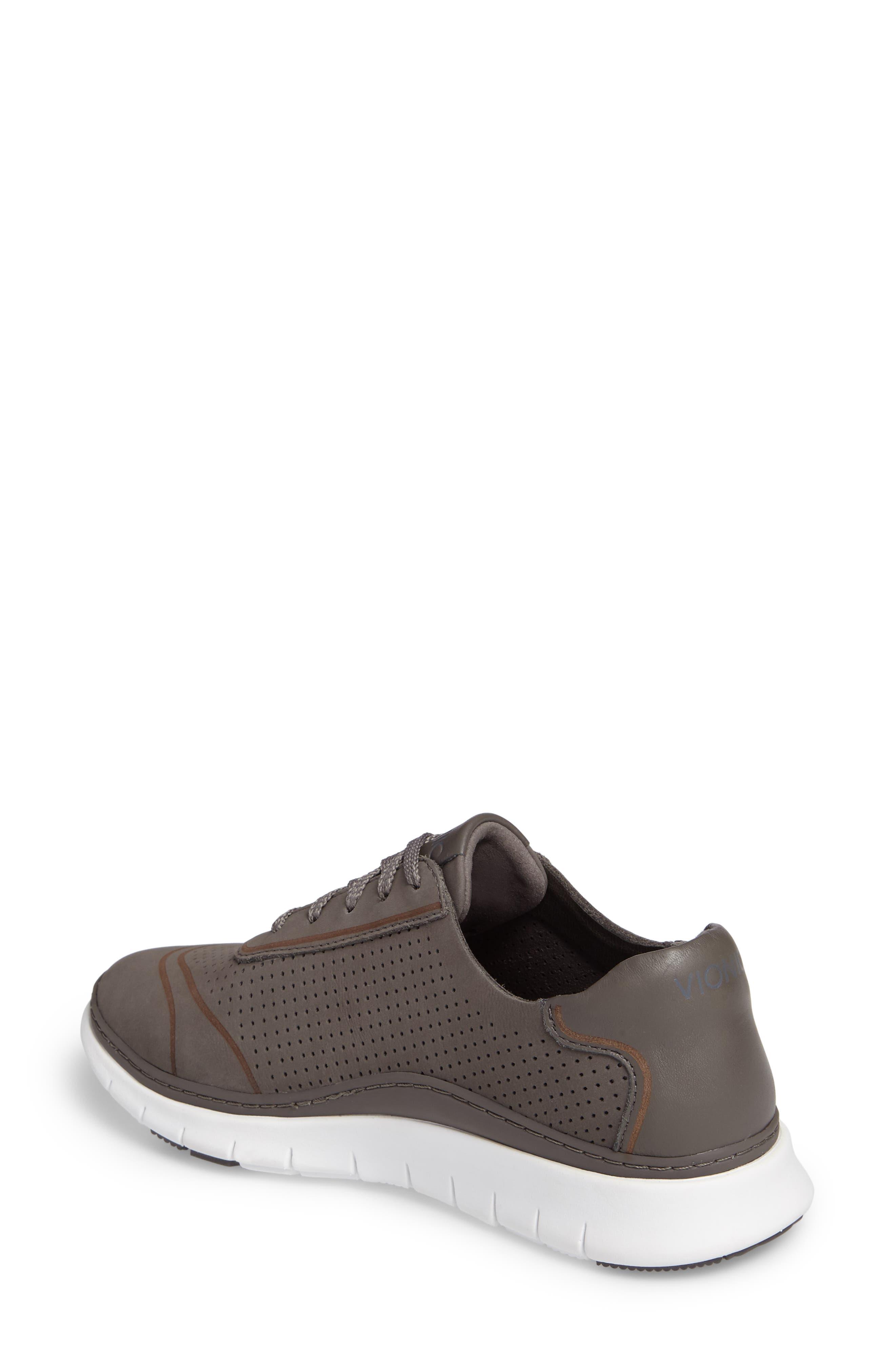 Fresh Riley Perforated Sneaker,                             Alternate thumbnail 6, color,