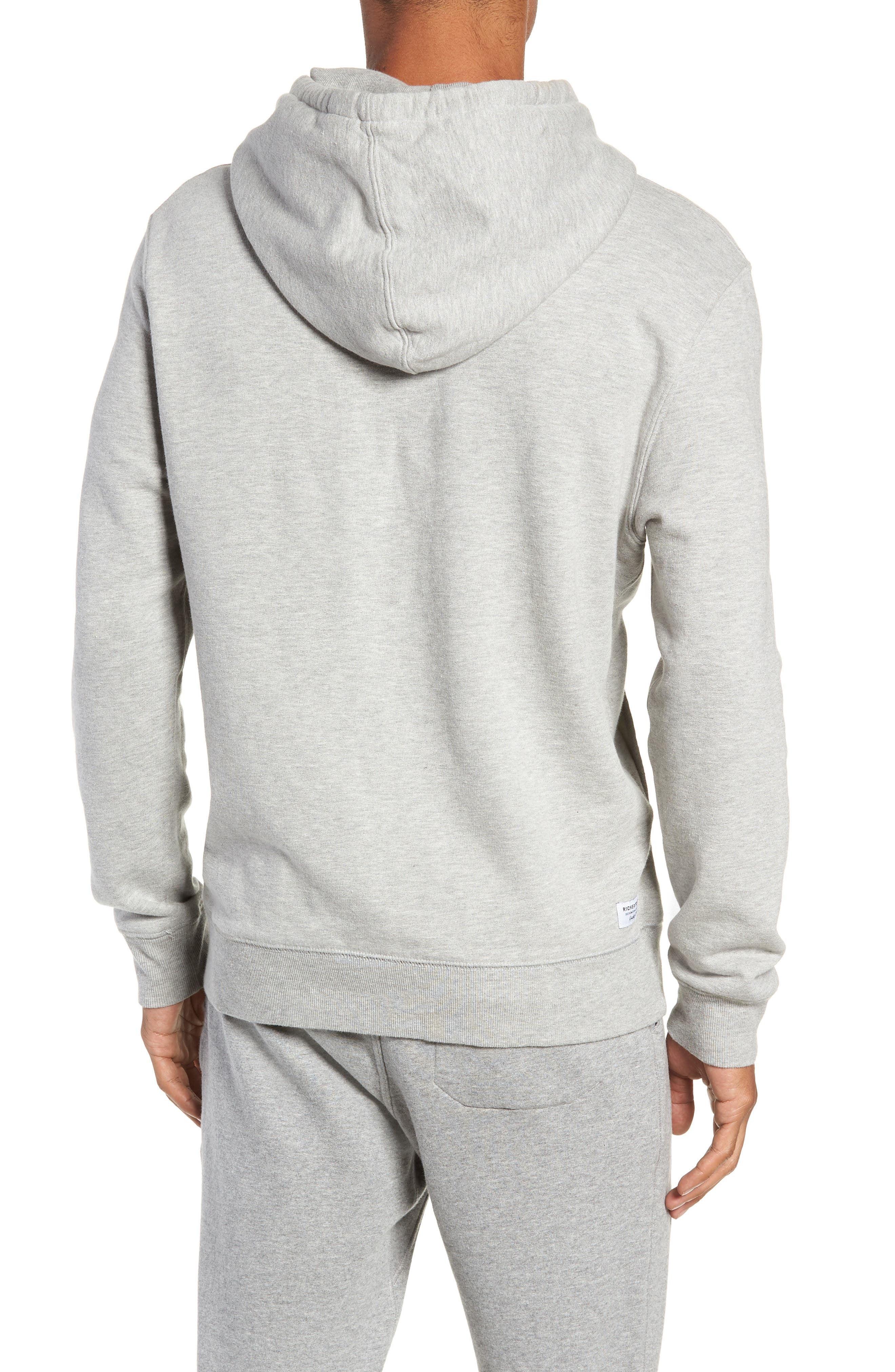 Hoodie,                             Alternate thumbnail 2, color,                             HEATHER GREY