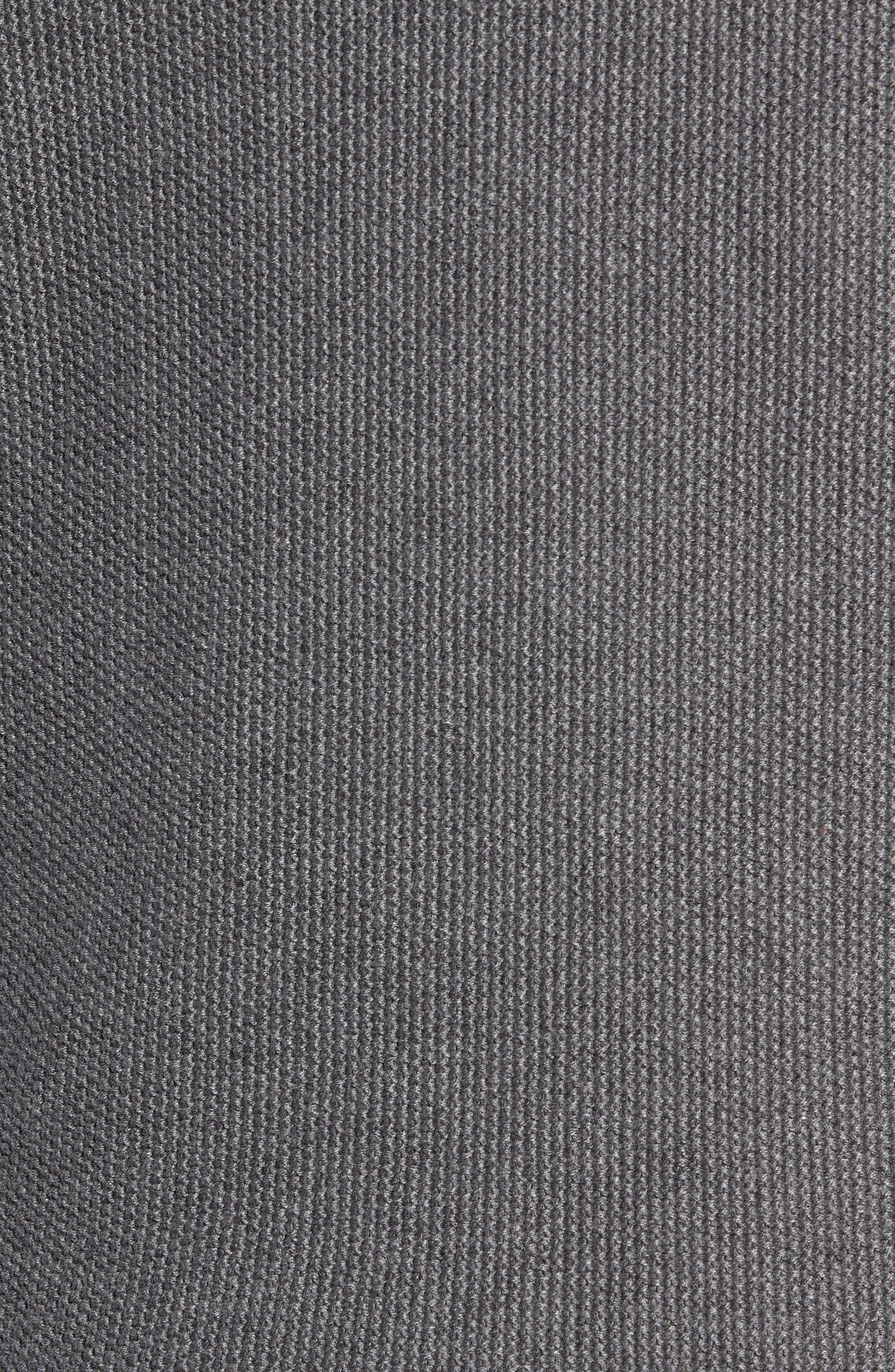 Owl Textured Sweater,                             Alternate thumbnail 5, color,                             GREY MELANGE