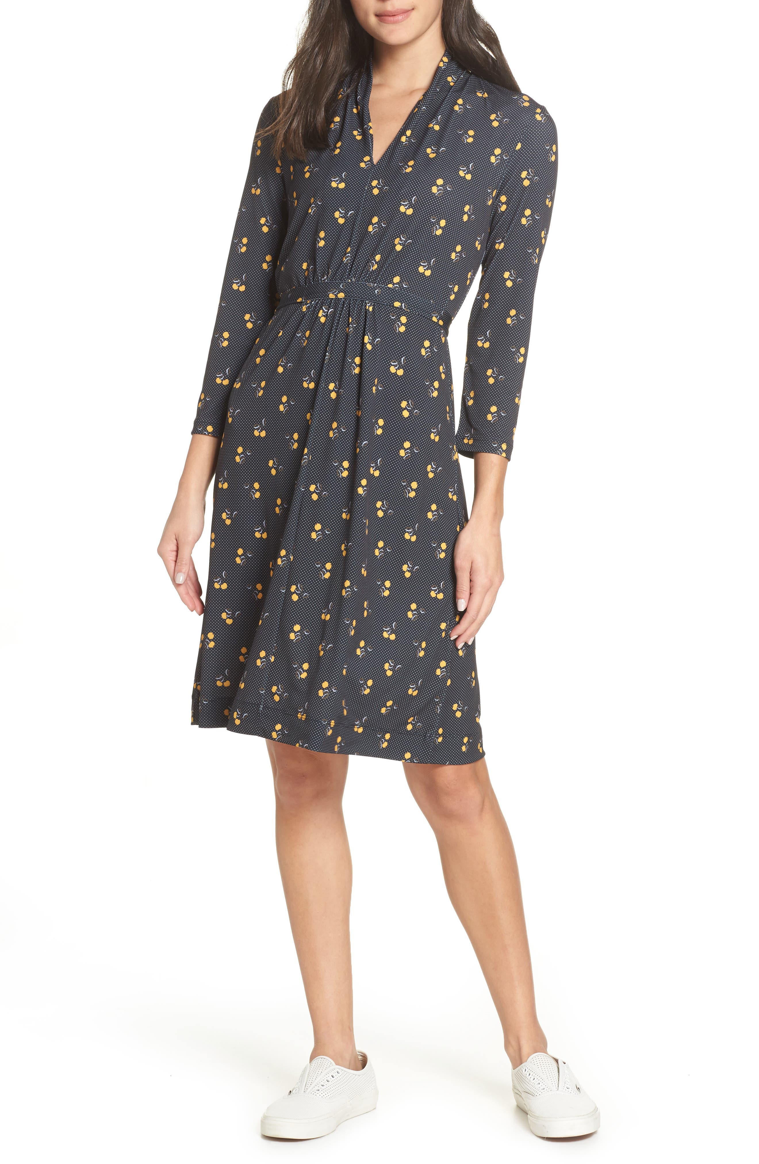 French Connection Aventine Jersey Dress, Blue