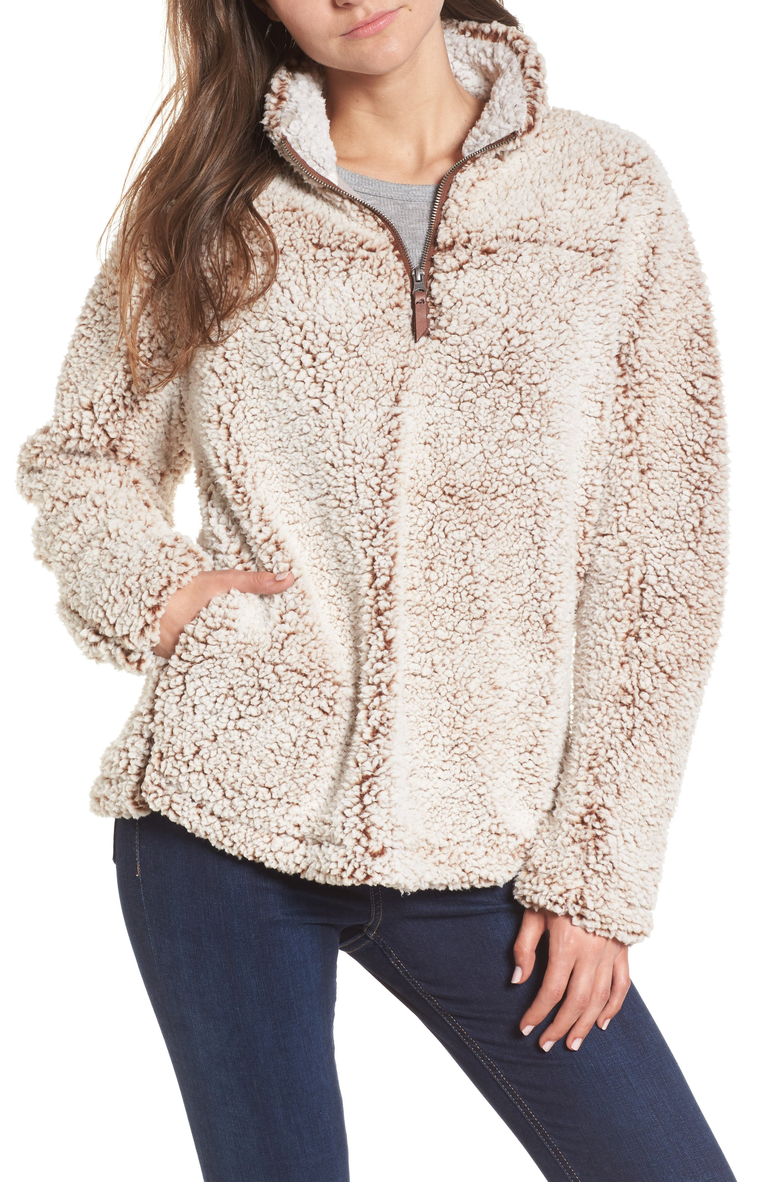 Wubby Fleece Pullover,                             Main thumbnail 3, color,