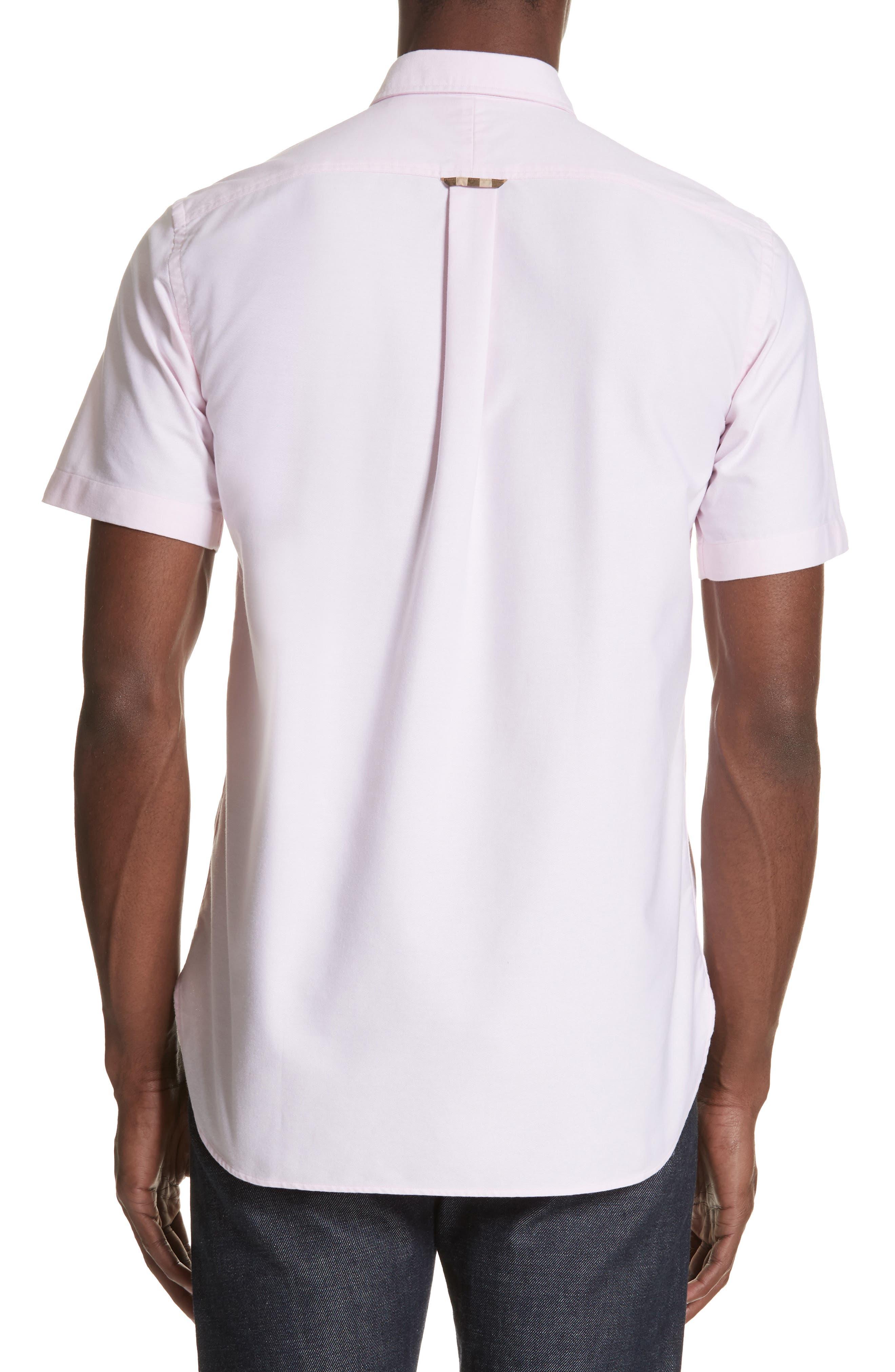 Harry Woven Sport Shirt,                             Alternate thumbnail 2, color,                             PALE PINK