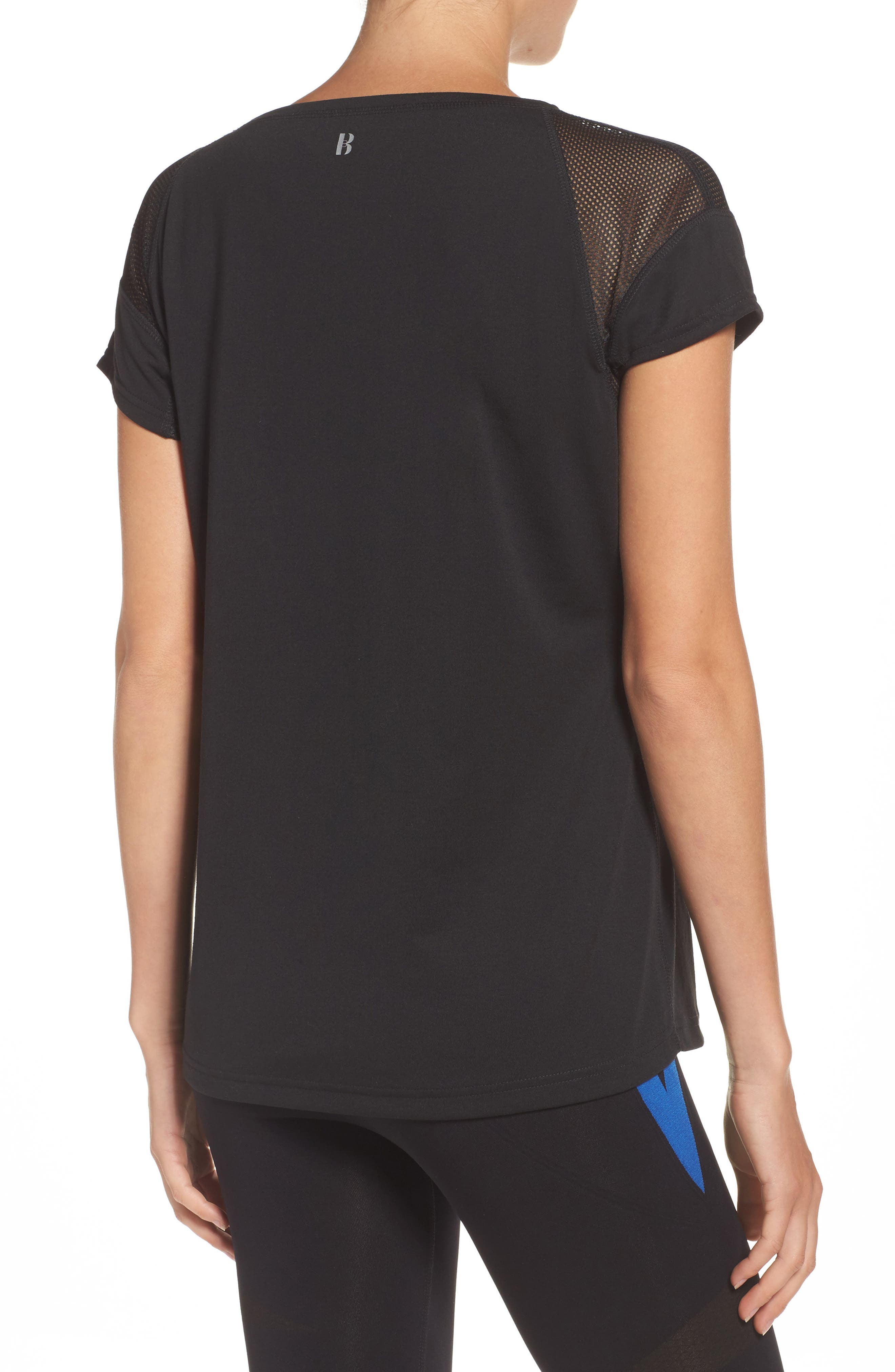 BoomBoom Athletica Sport Perfect Tee,                             Alternate thumbnail 2, color,                             001