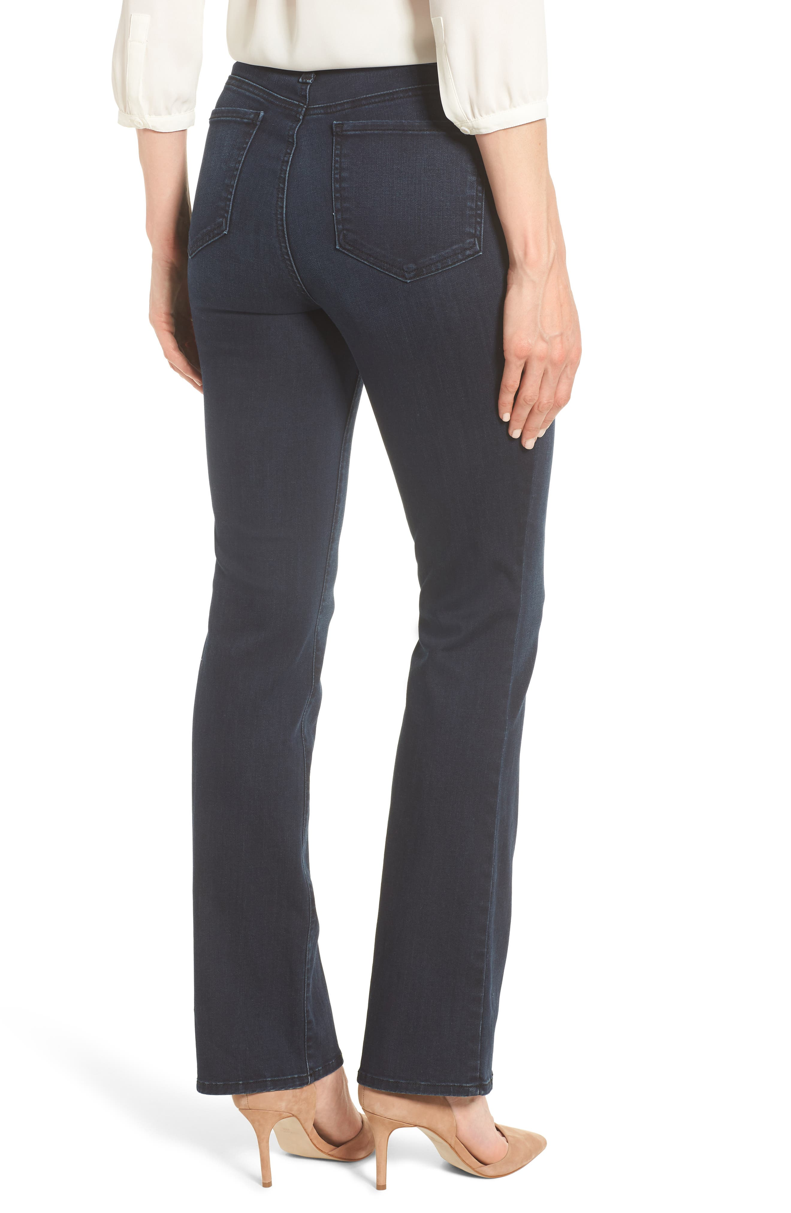 Barbara Bootcut Stretch Skinny Jeans,                             Alternate thumbnail 2, color,                             407