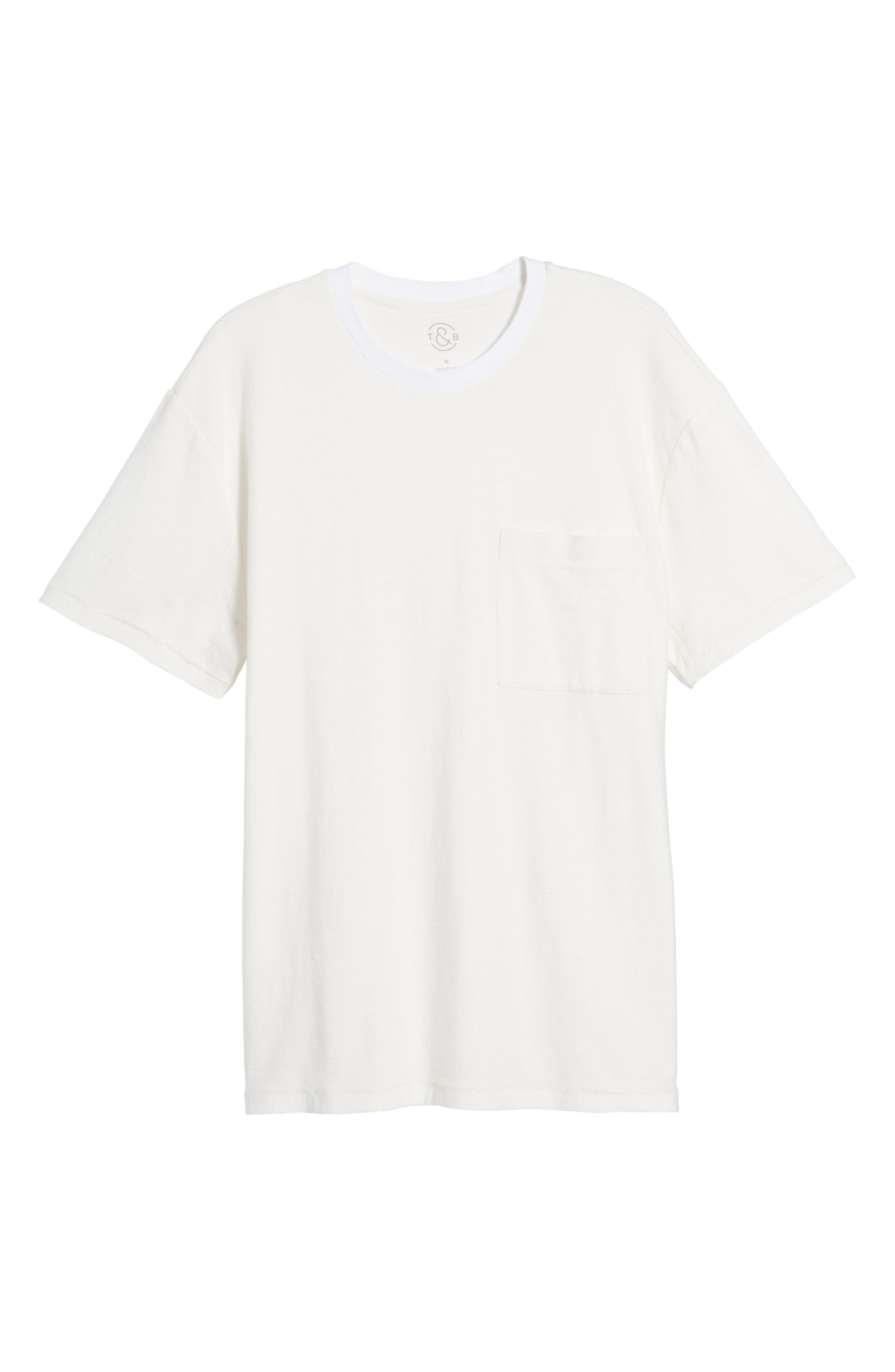 Nep Cotton Pocket T-Shirt,                             Alternate thumbnail 12, color,