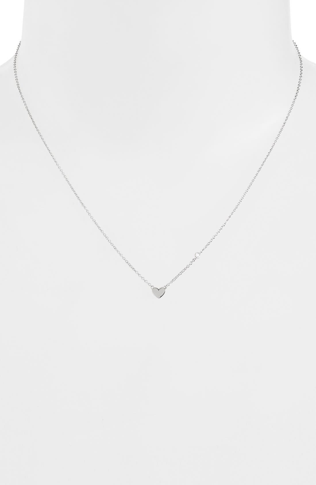 Shy by SE Heart Necklace,                             Alternate thumbnail 2, color,                             040