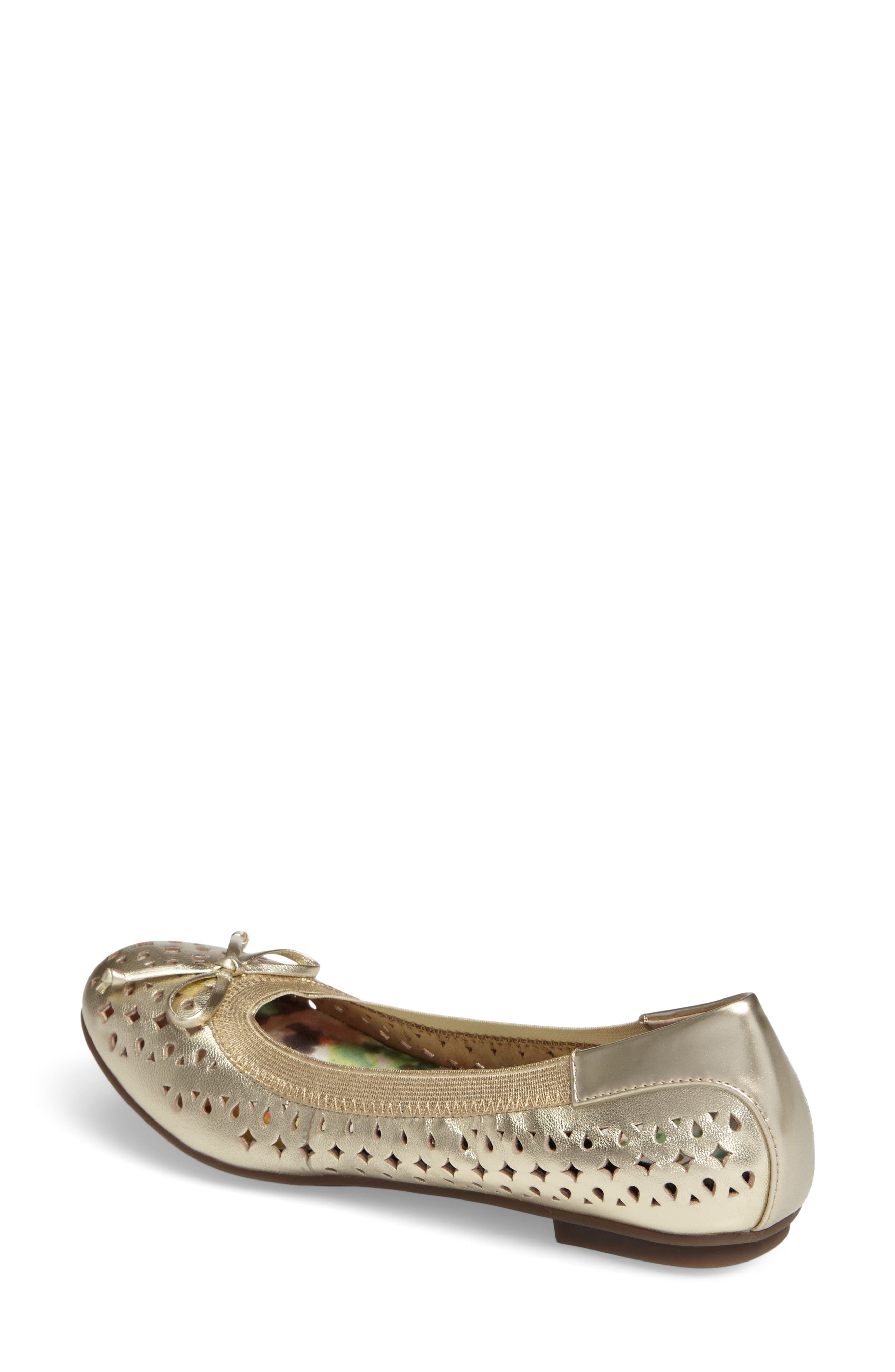 'Surin' Perforated Ballet Flat,                             Alternate thumbnail 10, color,