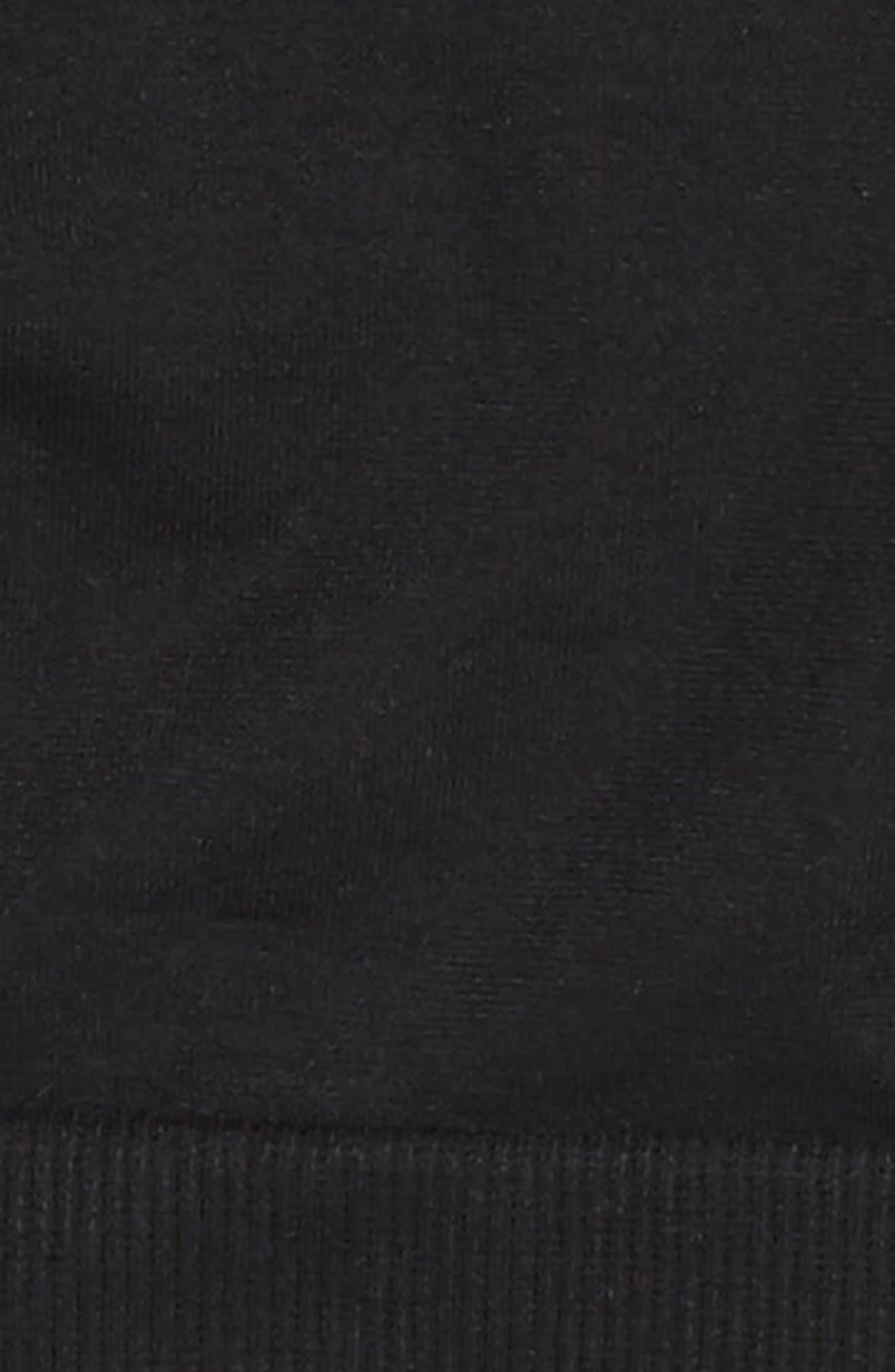 Strappy Bralette,                             Alternate thumbnail 2, color,                             BLACK