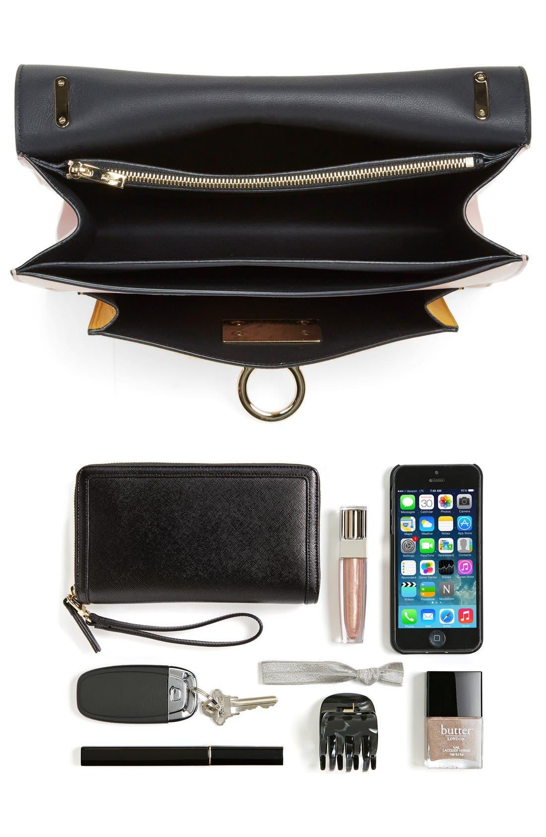 'Large Marisol' Leather Shoulder Bag,                             Alternate thumbnail 2, color,                             250