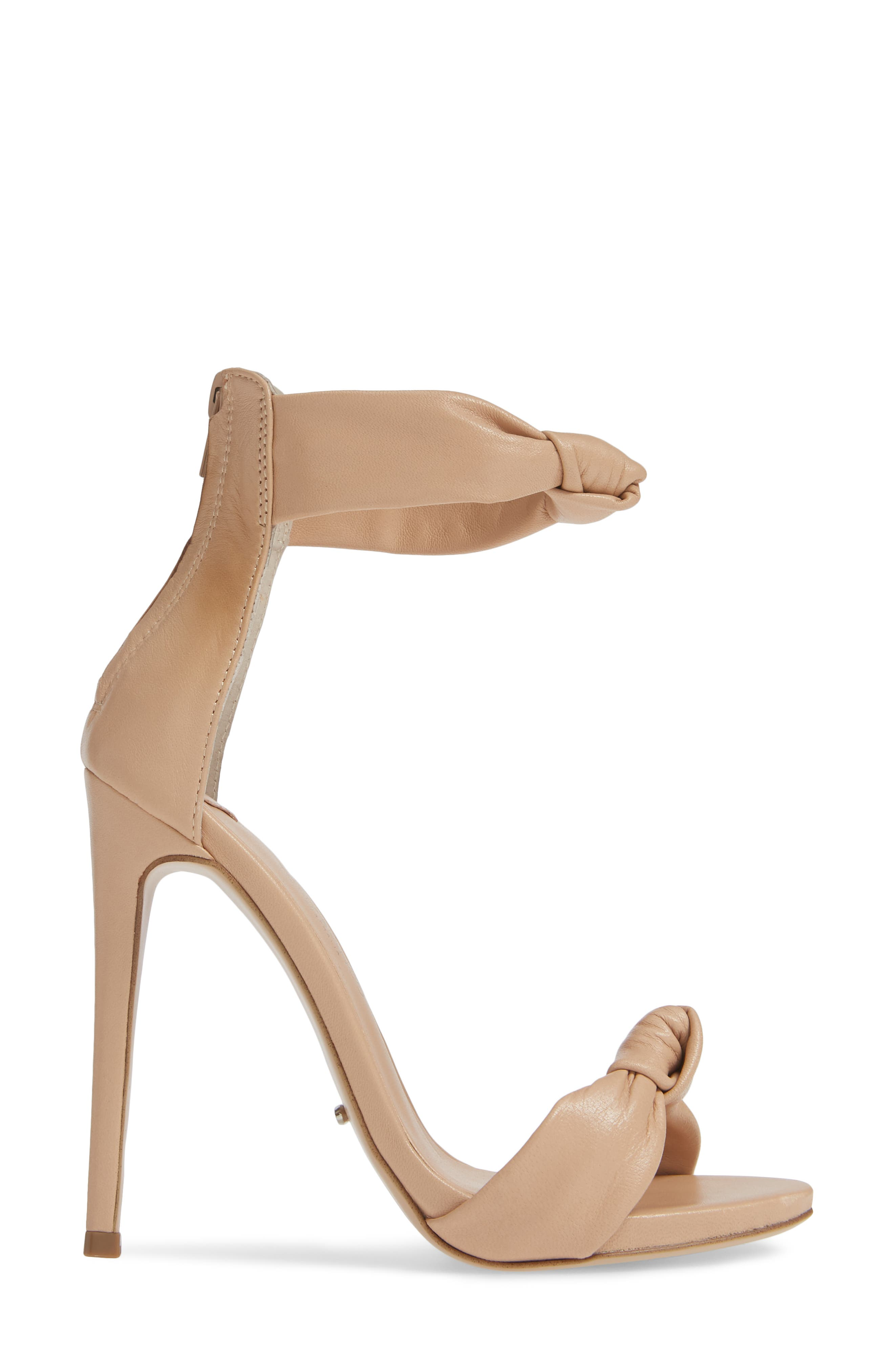 Anabelle Sandal,                             Alternate thumbnail 3, color,                             BEIGE LEATHER