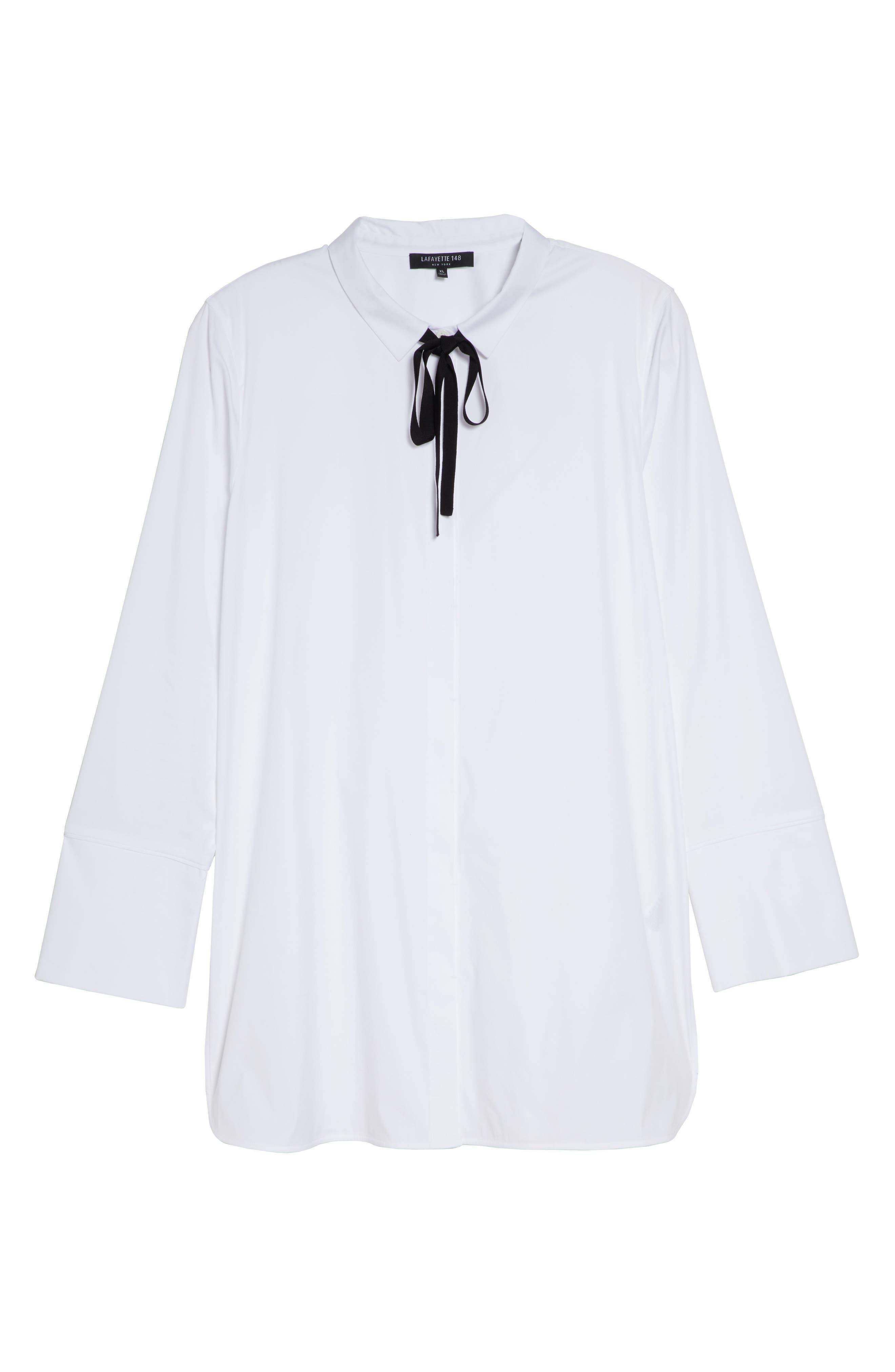 Annaliese Shirt,                             Alternate thumbnail 14, color,                             WHITE