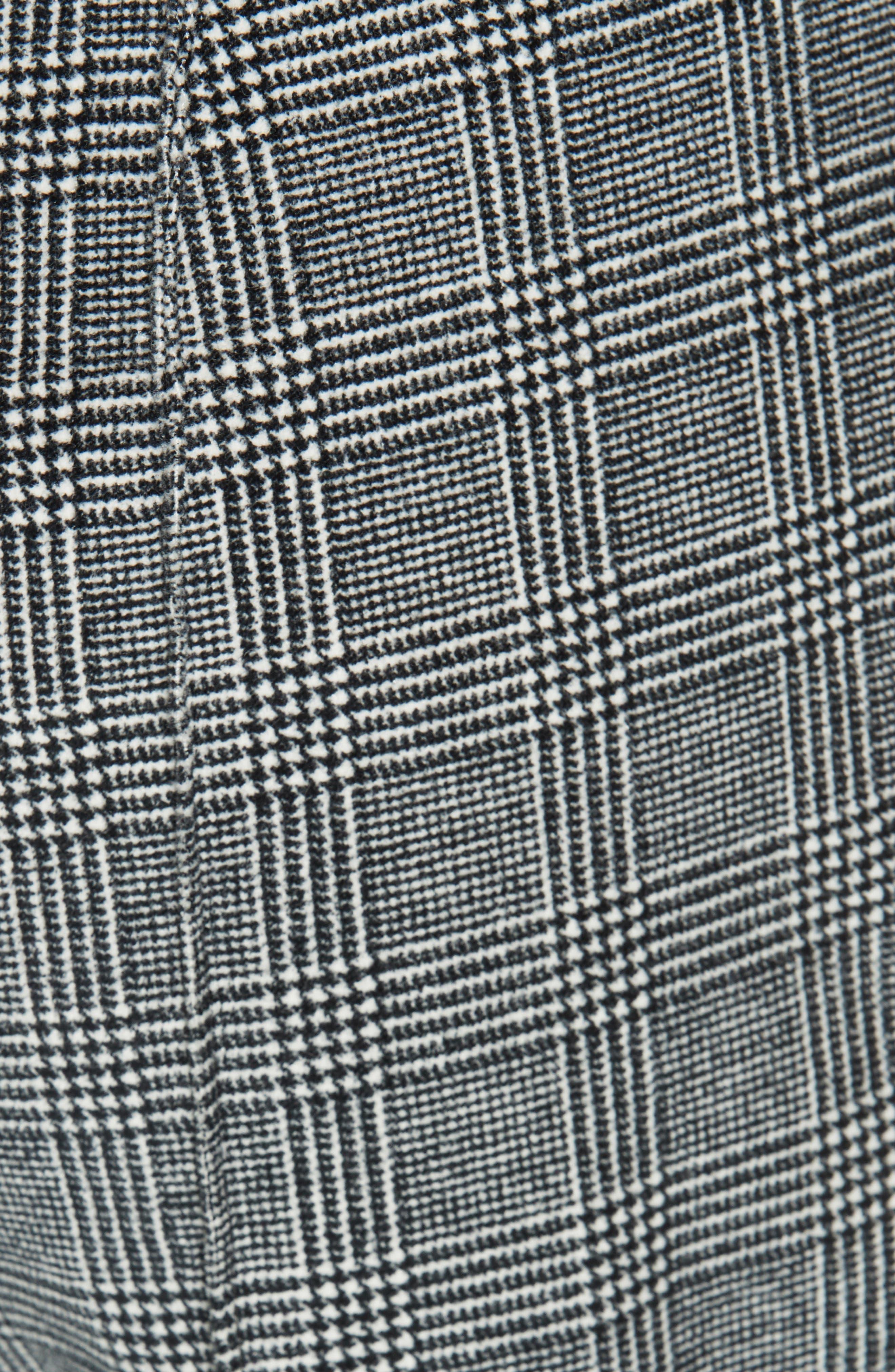 LA VIE REBECCA TAYLOR,                             Glen Plaid Pants,                             Alternate thumbnail 6, color,                             SAND COMBO
