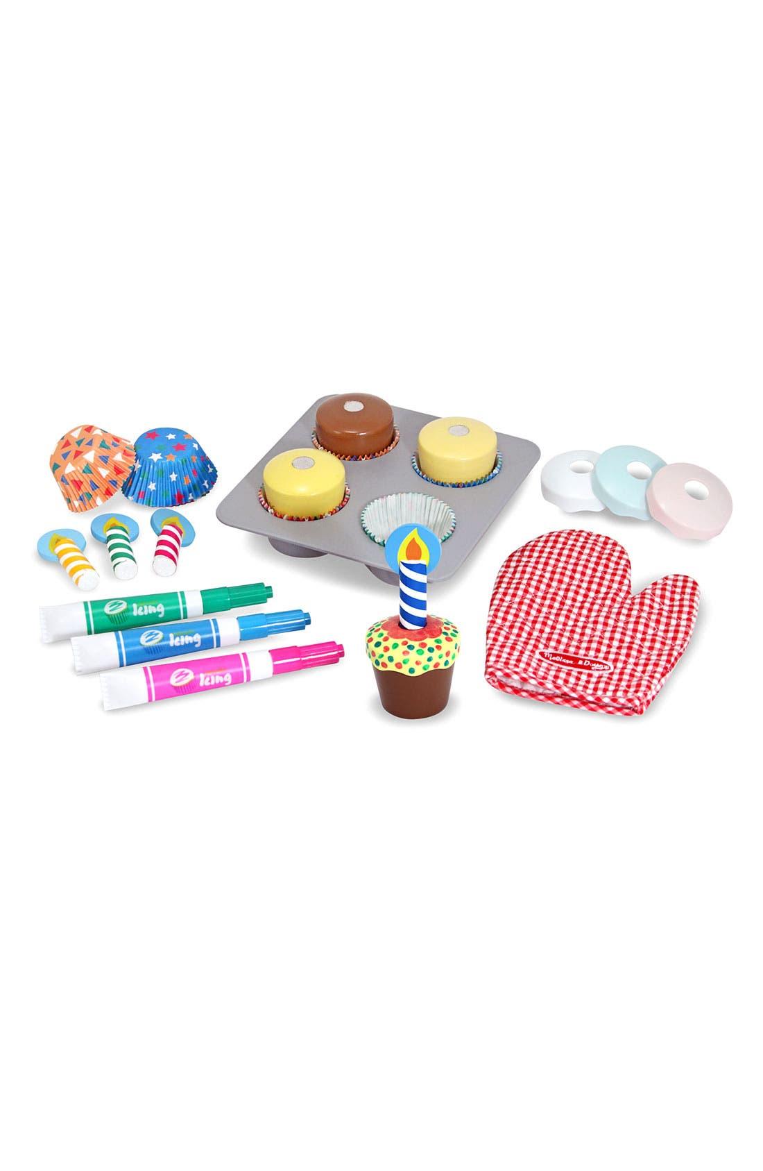 Melissa  Doug Toy Cupcake Set