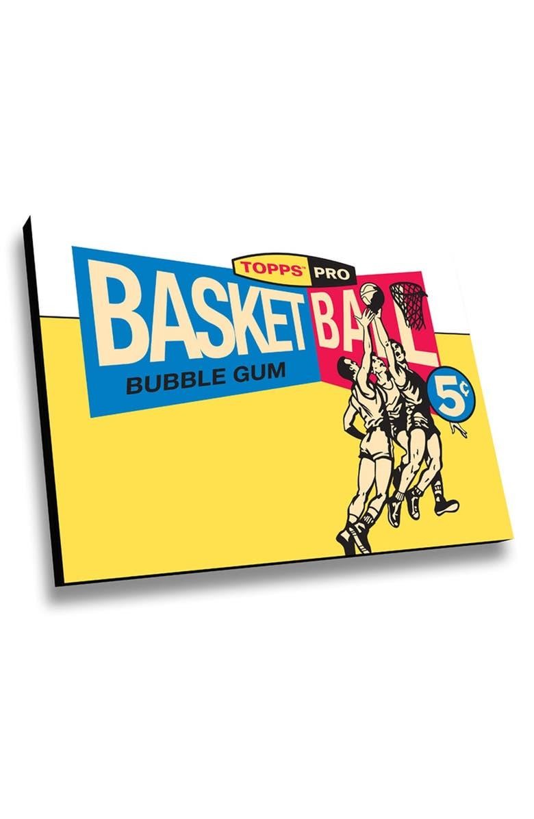 LAMP-IN-A-BOX \'Topps Basketball 1959 Bubblegum Box\' Wall Art   Nordstrom