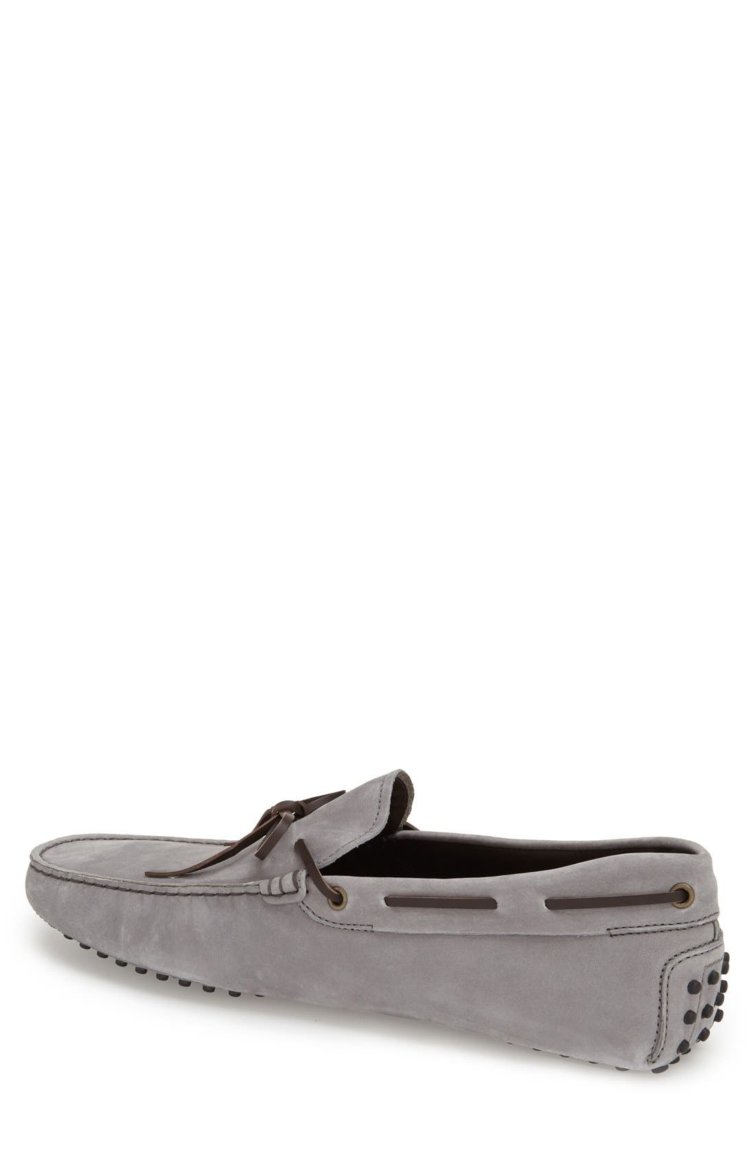 Gommini Tie Front Driving Moccasin,                             Alternate thumbnail 71, color,