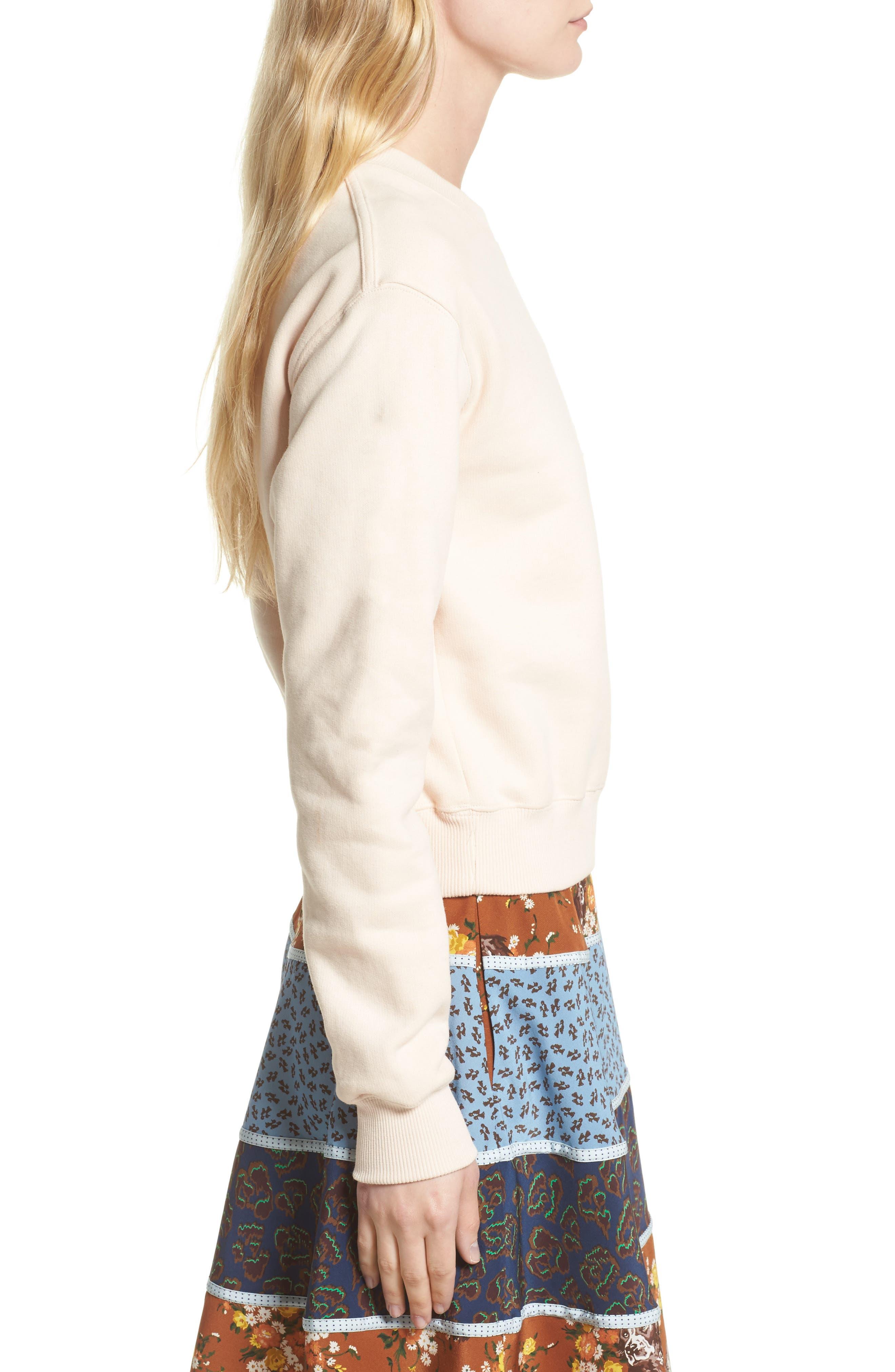Sequin Sundae Sweatshirt,                             Alternate thumbnail 3, color,                             683