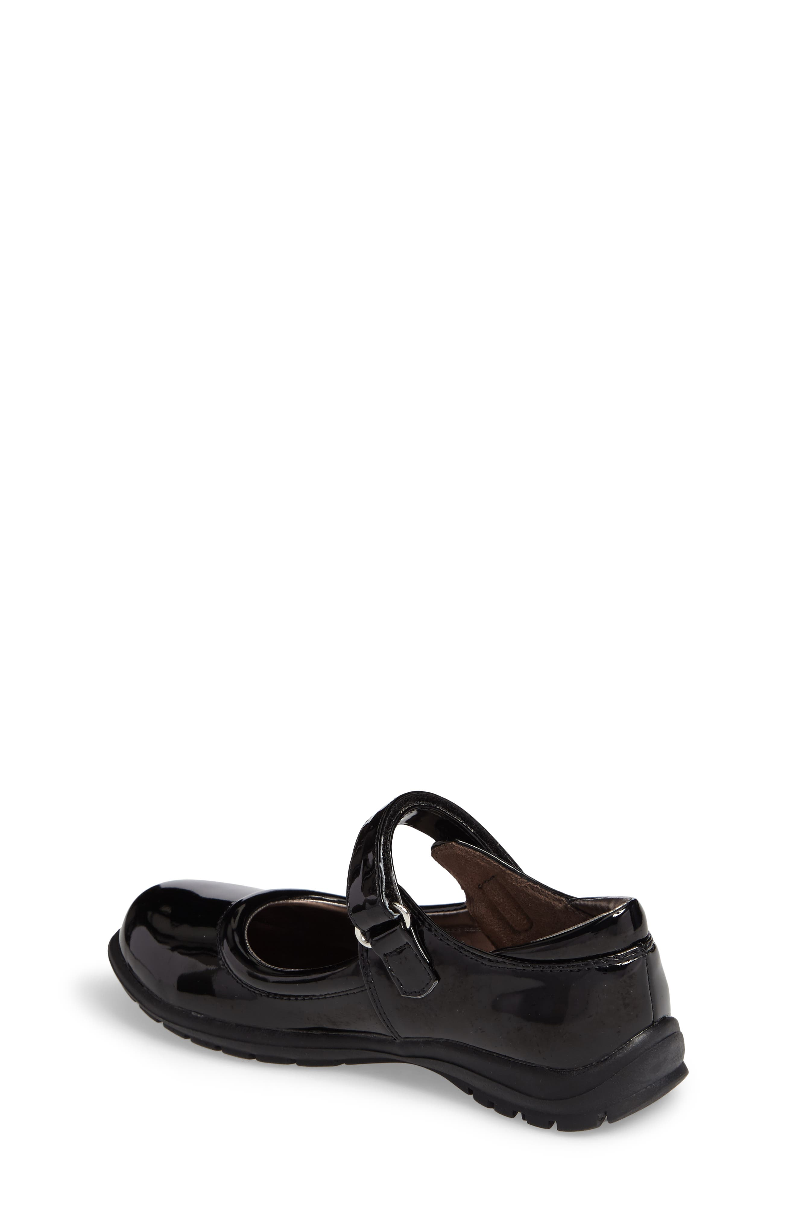 Dolly School Mary Jane,                             Alternate thumbnail 2, color,                             BLACK FAUX PATENT
