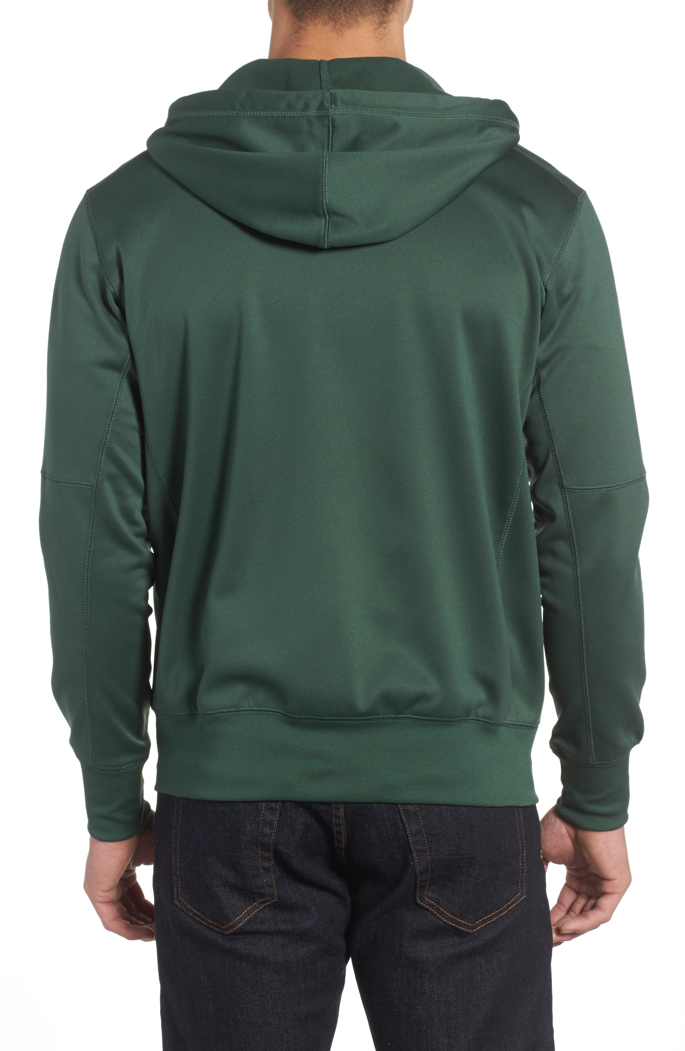 Therma-FIT NFL Graphic Zip Hoodie,                             Alternate thumbnail 10, color,