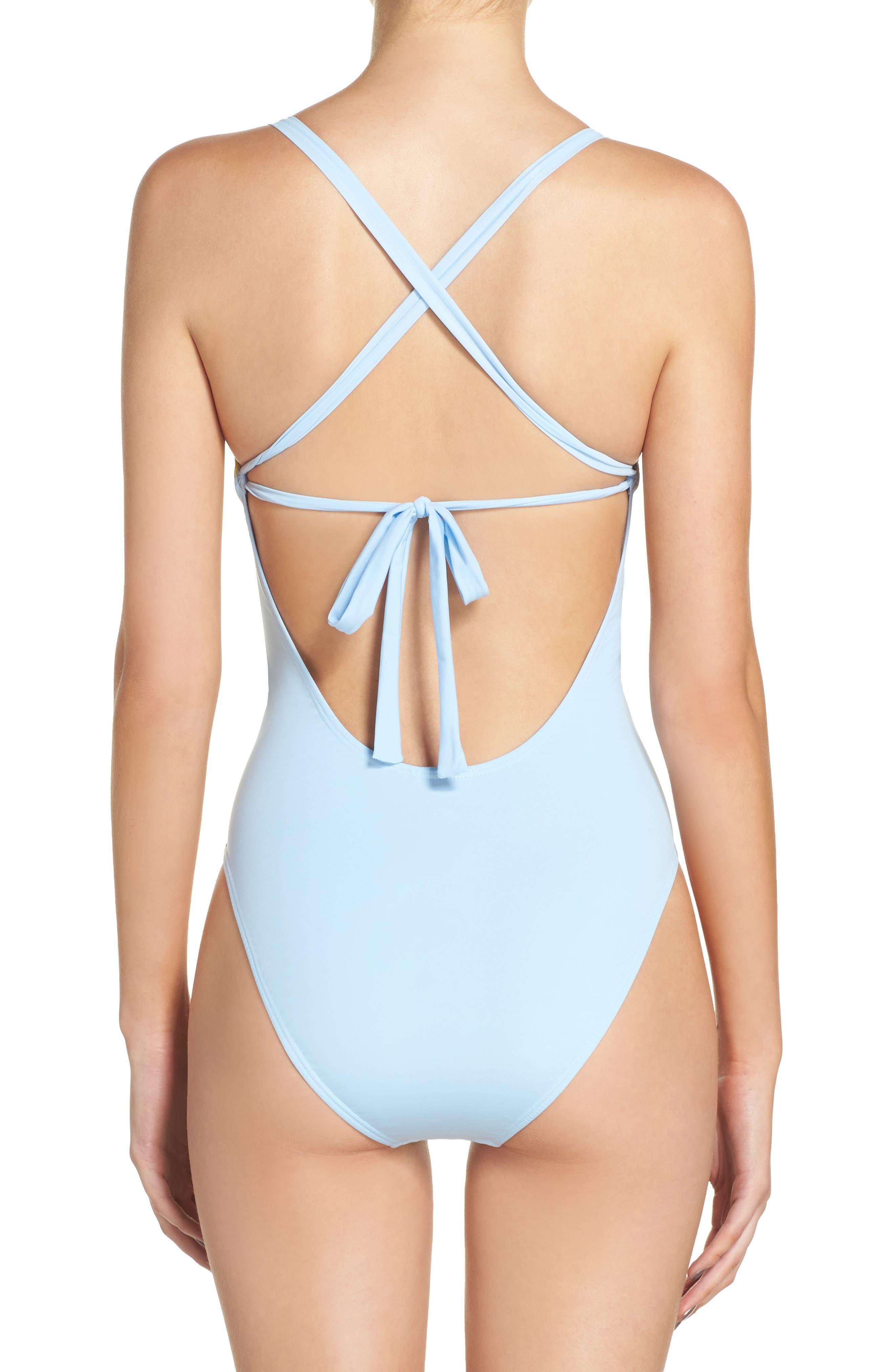 Farrah One-Piece Swimsuit,                             Alternate thumbnail 2, color,                             440