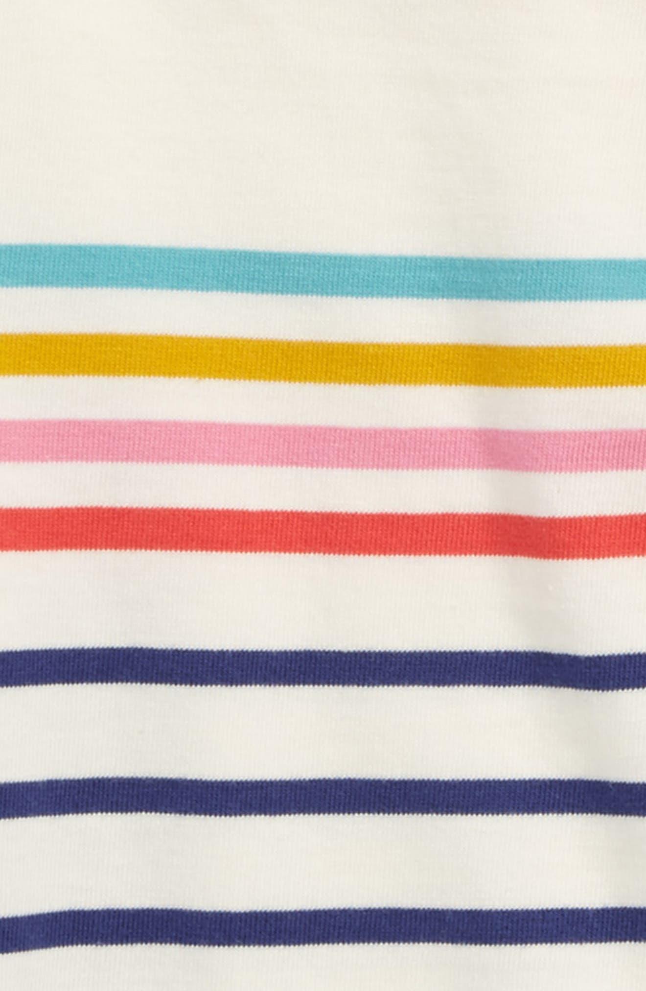 Colourfully Stripy Tee,                             Alternate thumbnail 2, color,                             906