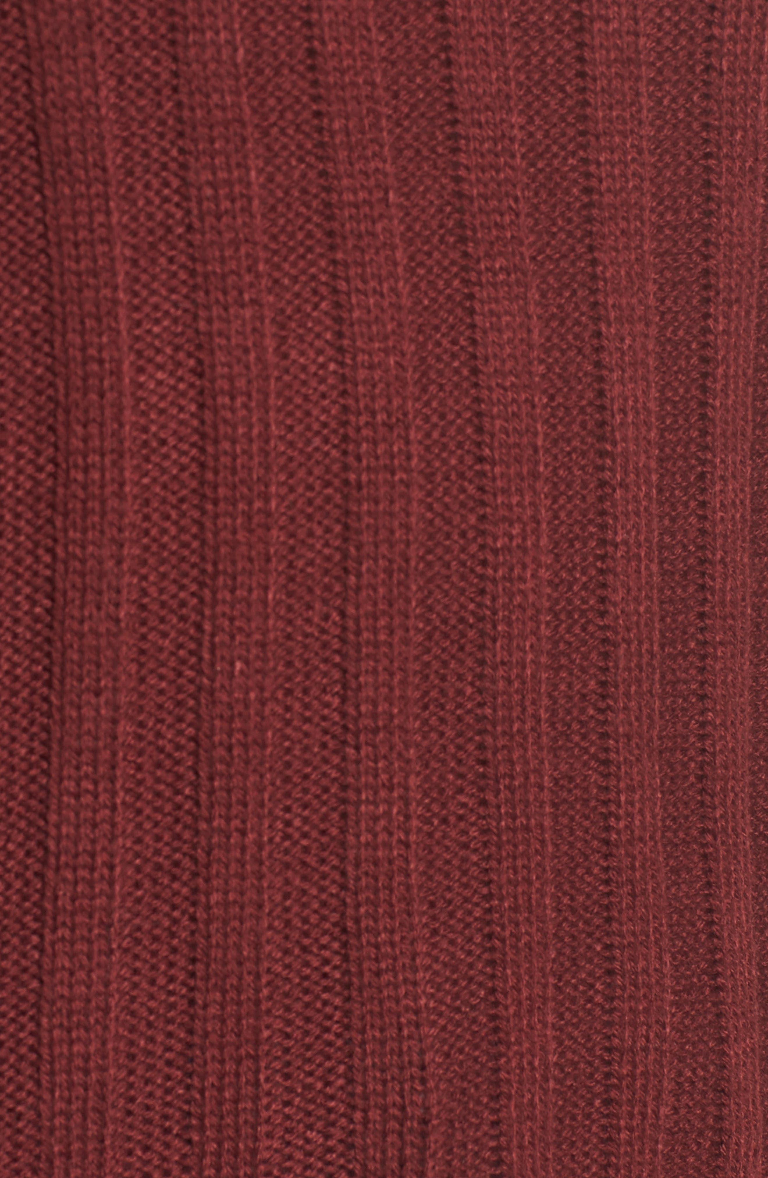 Wide Rib Mock Neck Sweater,                             Alternate thumbnail 15, color,