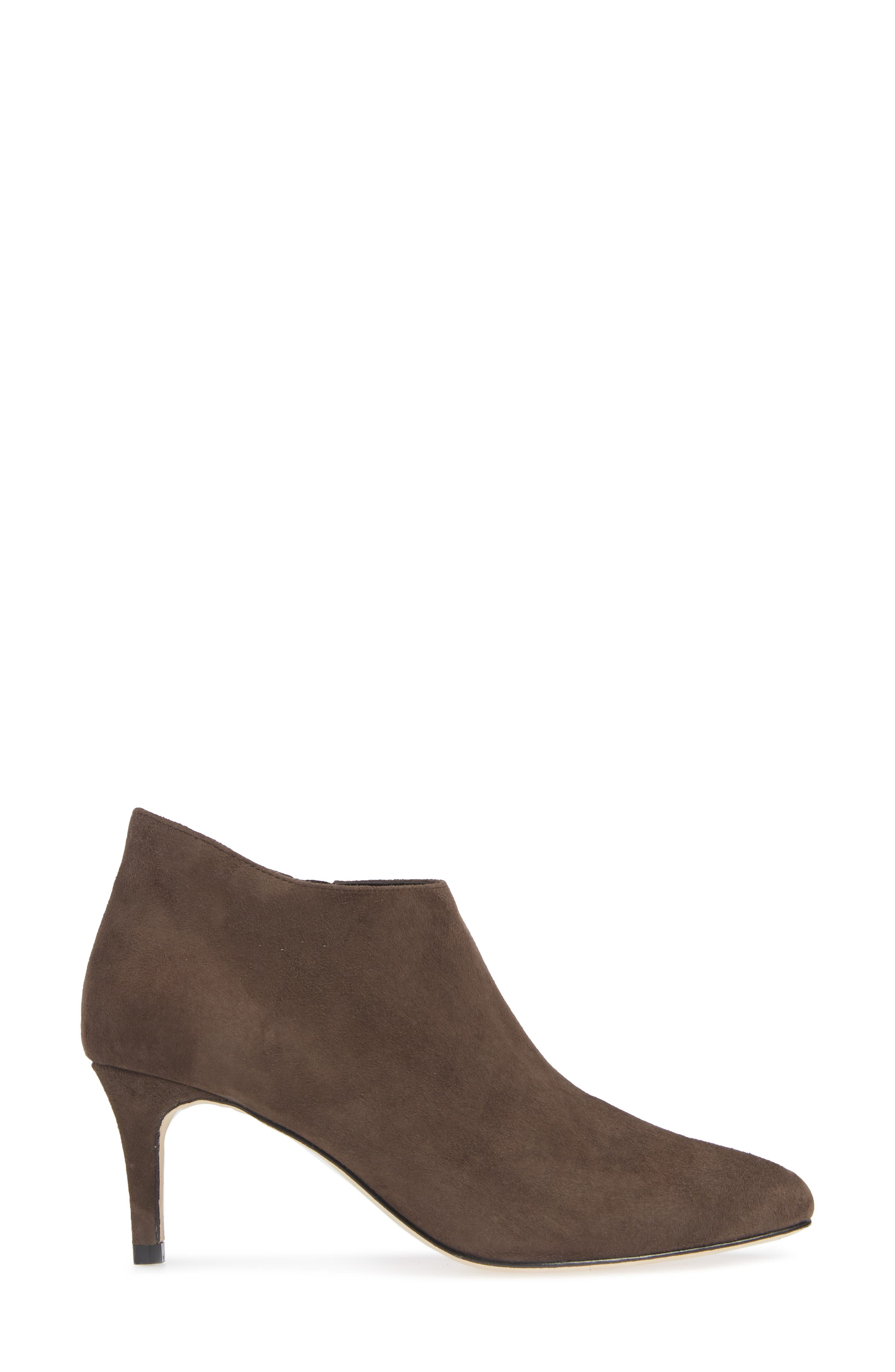 'Yelm' Almond Toe Bootie,                             Alternate thumbnail 3, color,                             MINK SUEDE