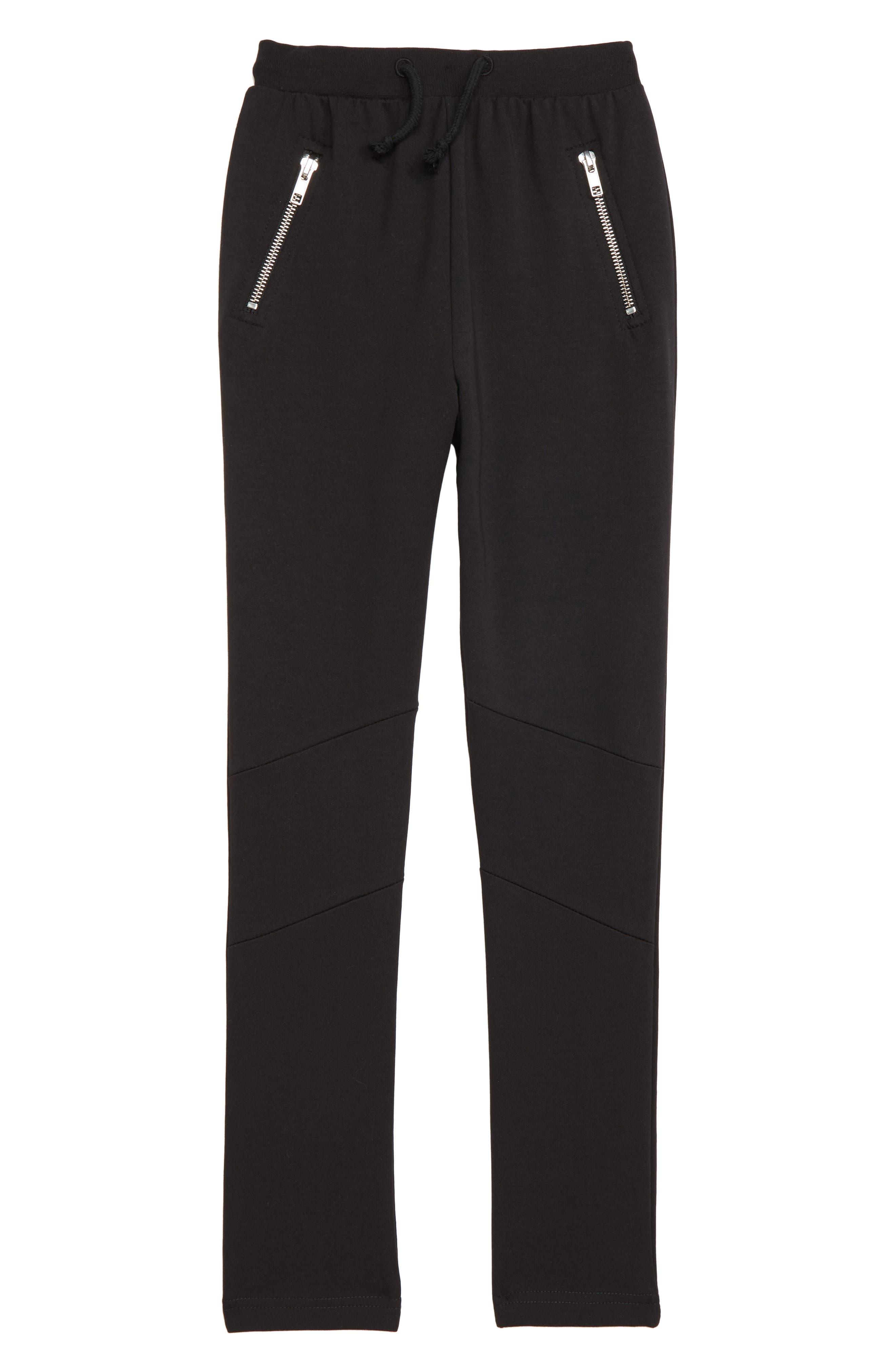 Boys Sometime Soon Anton Sweatpants Size 5Y  Black