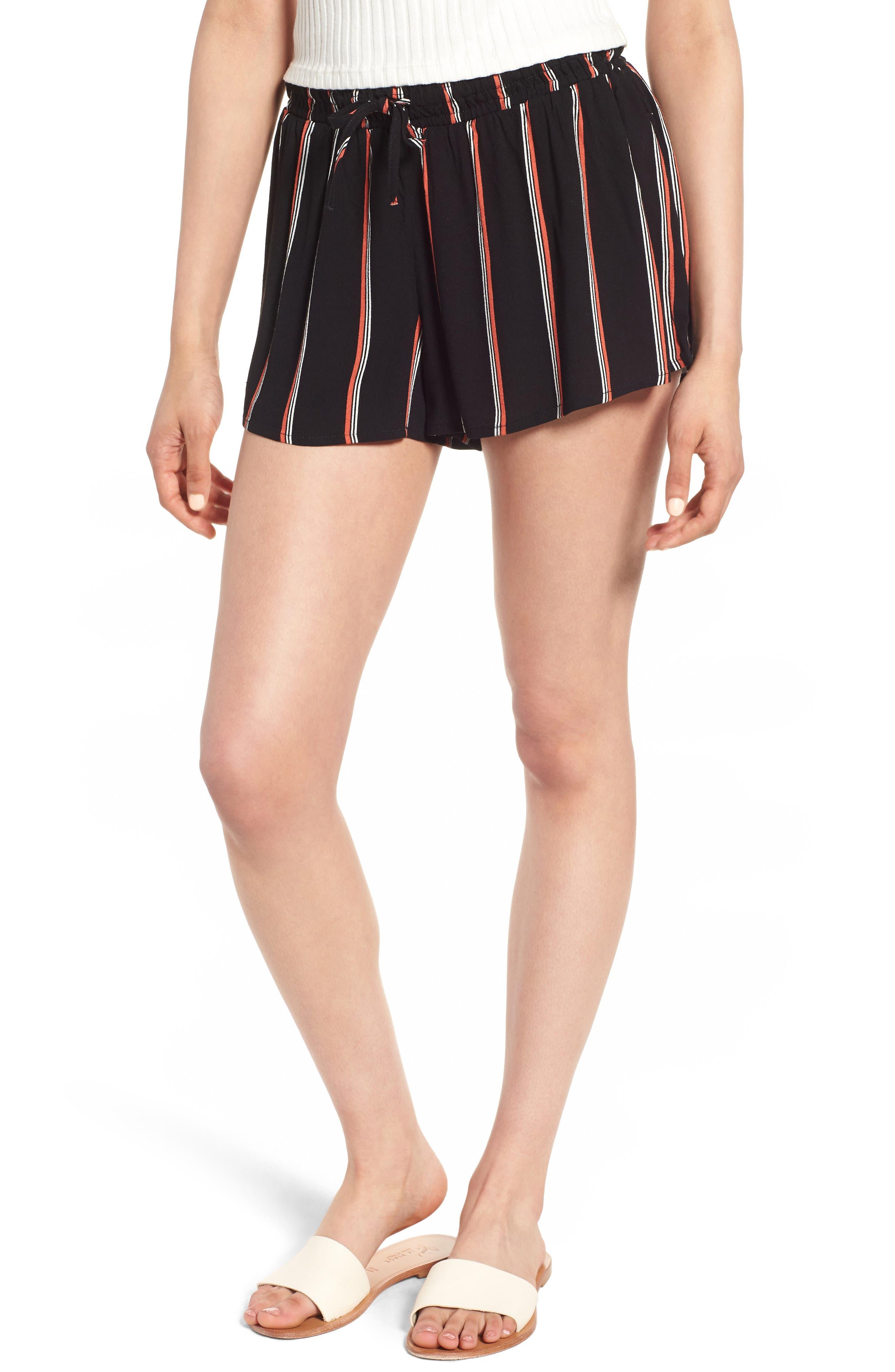 Juniper Stripe Shorts,                             Main thumbnail 1, color,                             001